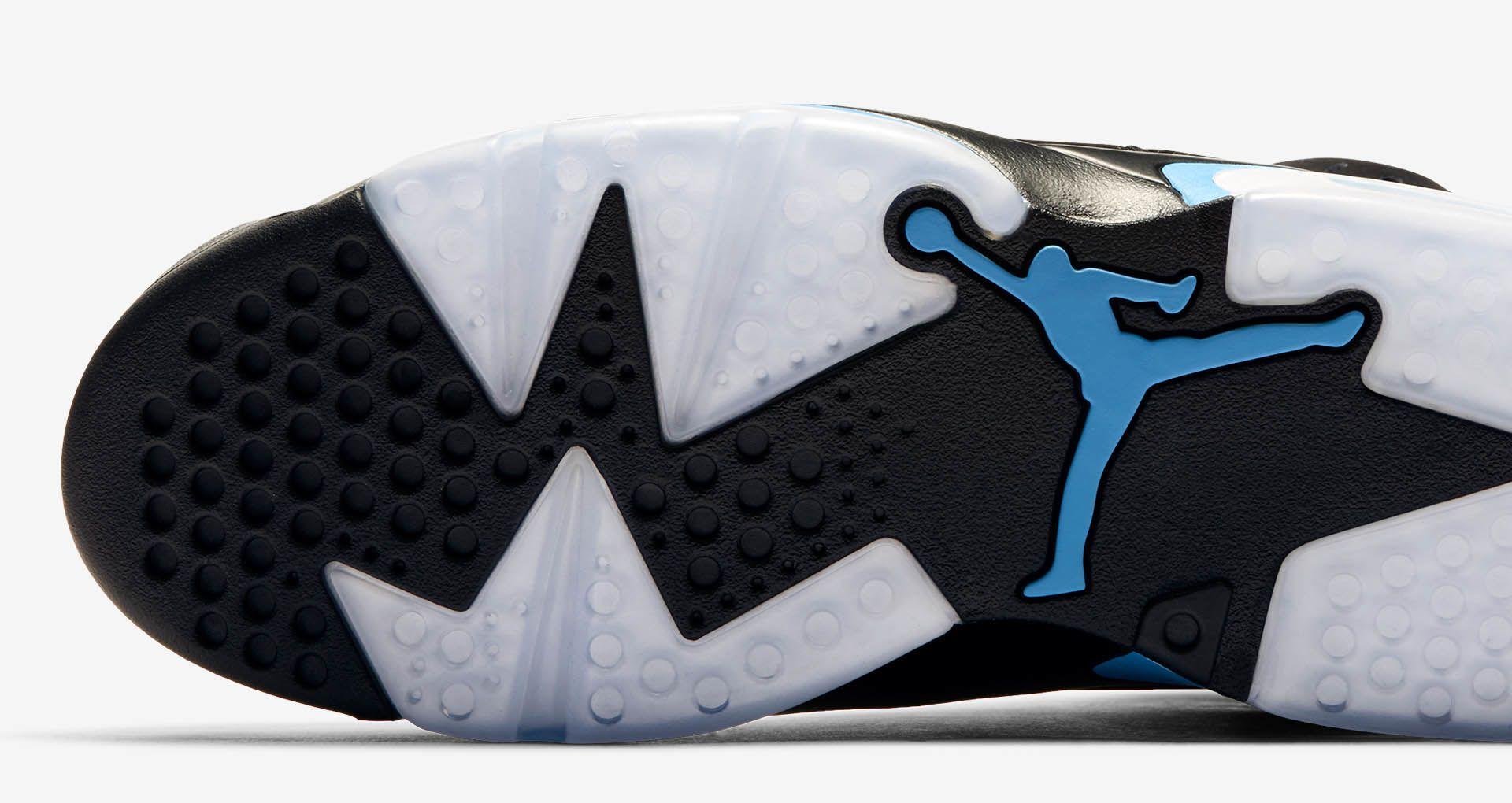 2e15ccb7043 Air Jordan 6  Black   University Blue  Release Date. Nike+ SNKRS