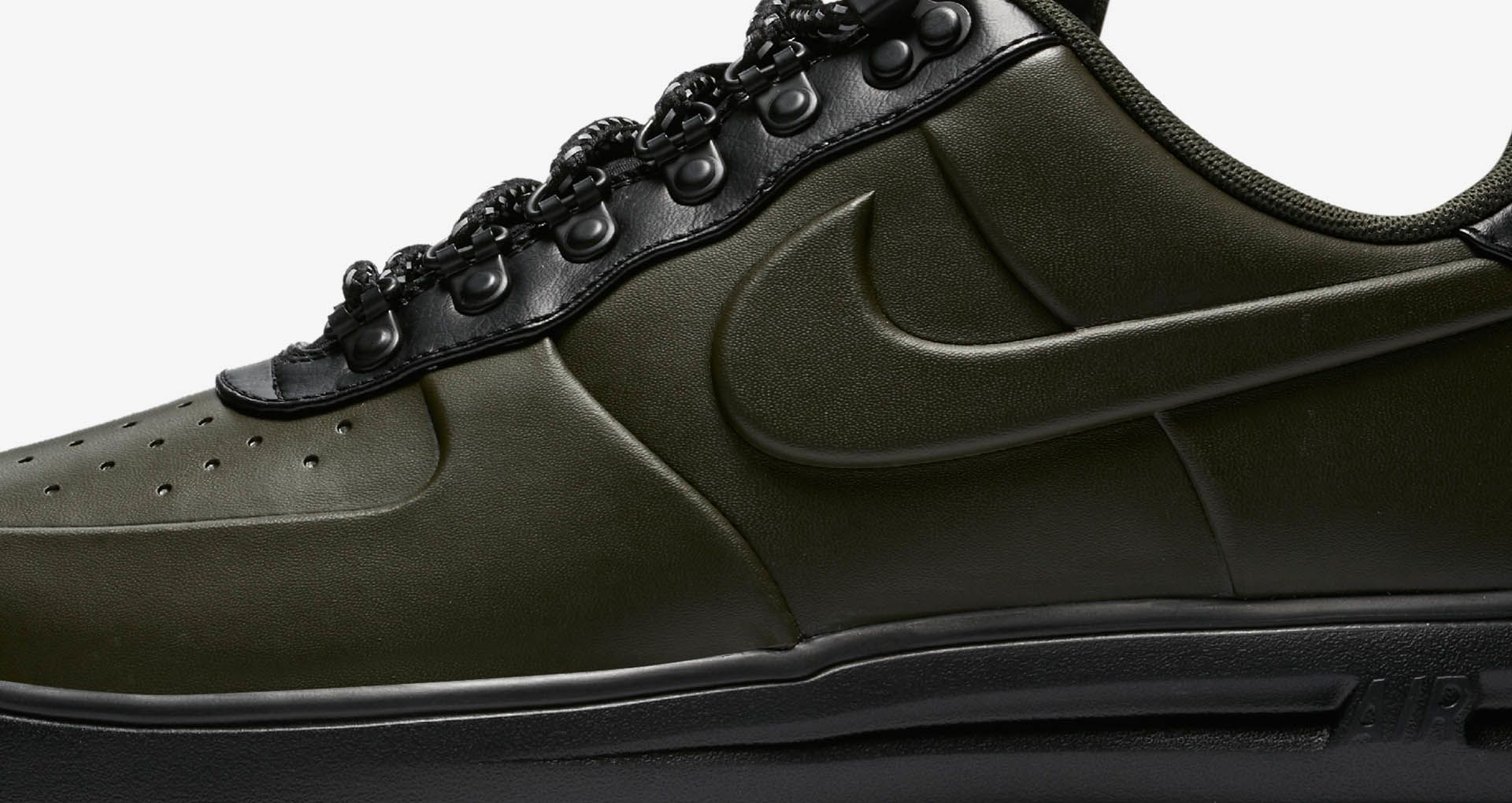e39300c93876c3 ... Nike Lunar Force 1 Duckboot Low Sequoia and Black Release Date ...