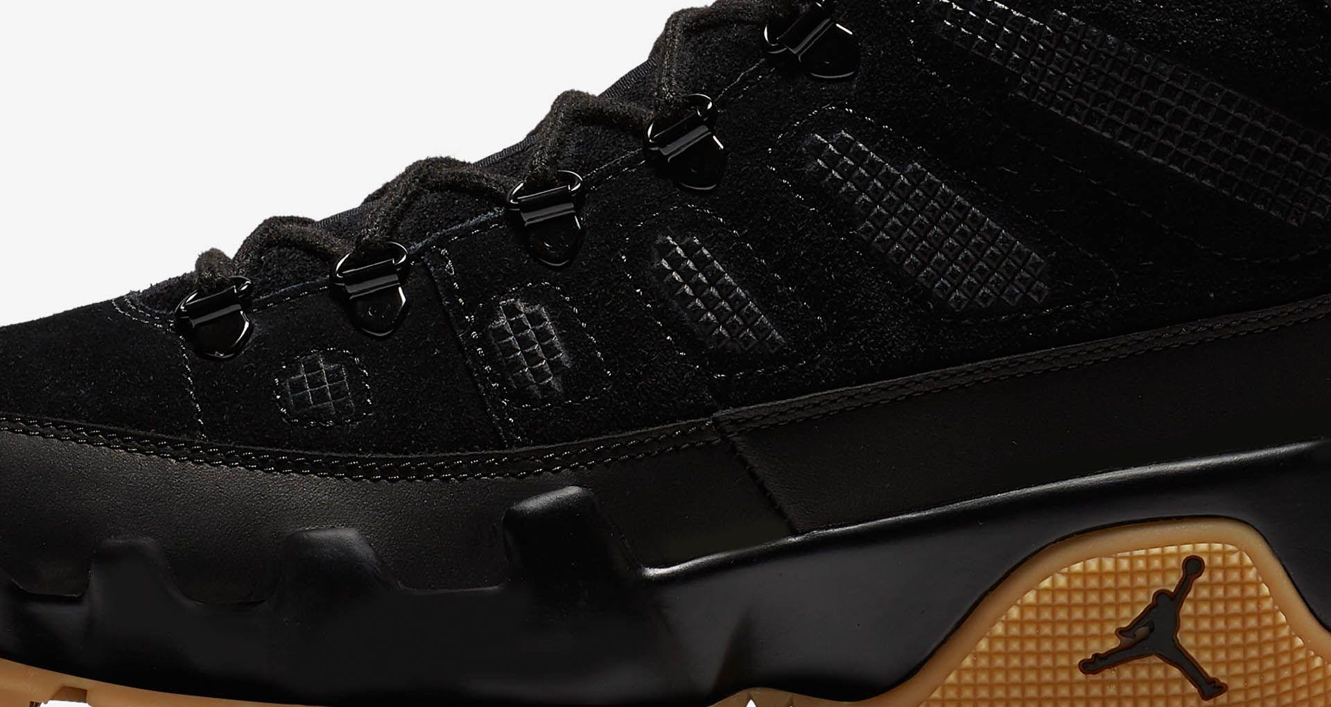 outlet store c095e 8cebb Air Jordan 9 Retro Boot NRG 'Black & Gum Light Brown ...