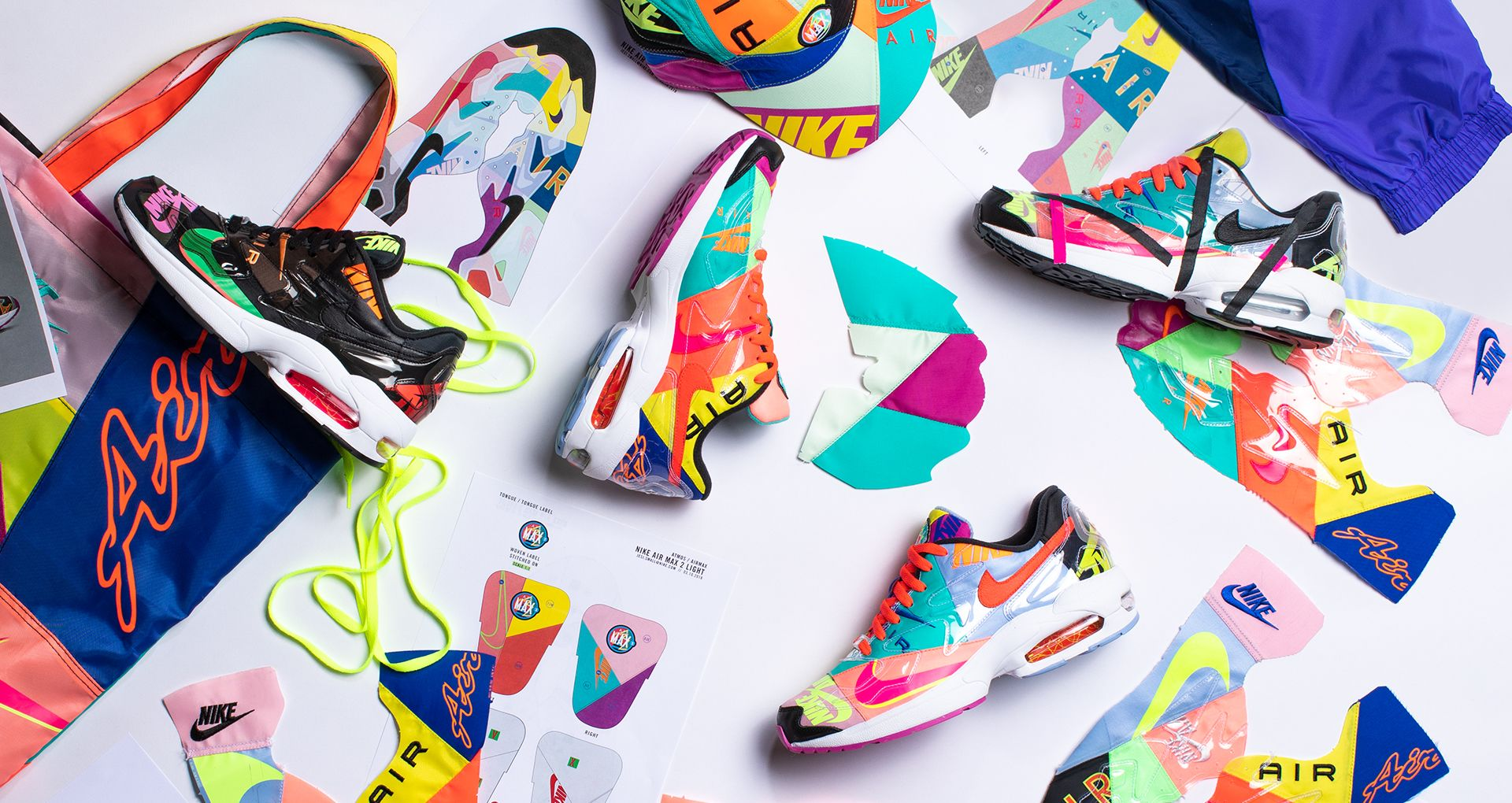 Behind the Design: atmos x Nike Air Max2 Light. Nike SNKRS