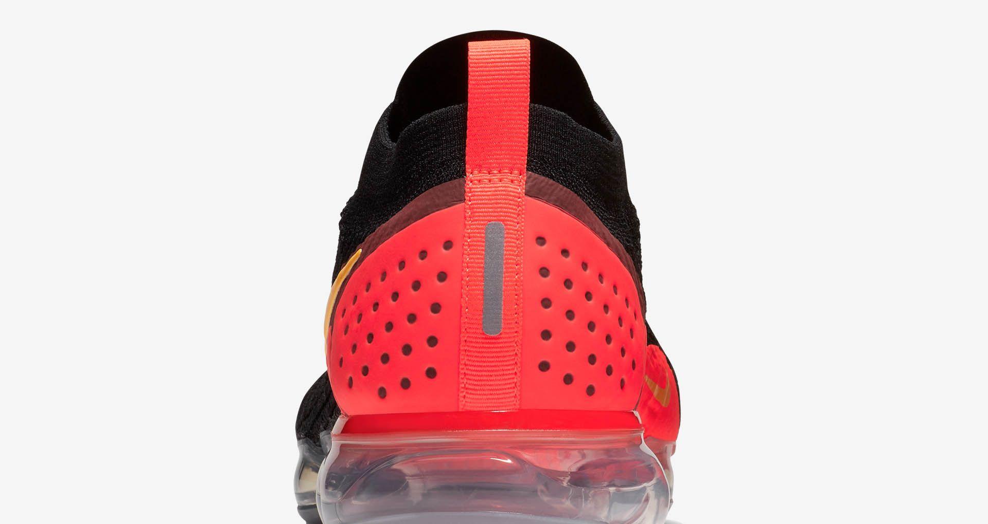 382366a740eea Nike Air Vapormax 2  Black   Laser Orange  Release Date. Nike+ SNKRS
