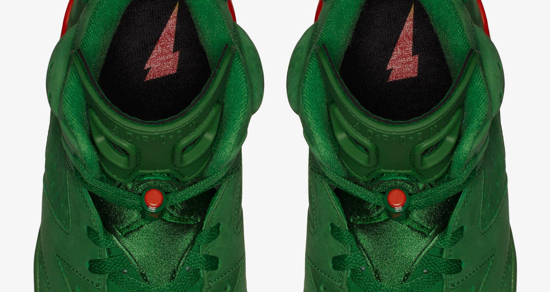 4633e60399c5 Air Jordan 6 Gatorade  Pine Green  Release Date. Nike+ SNKRS