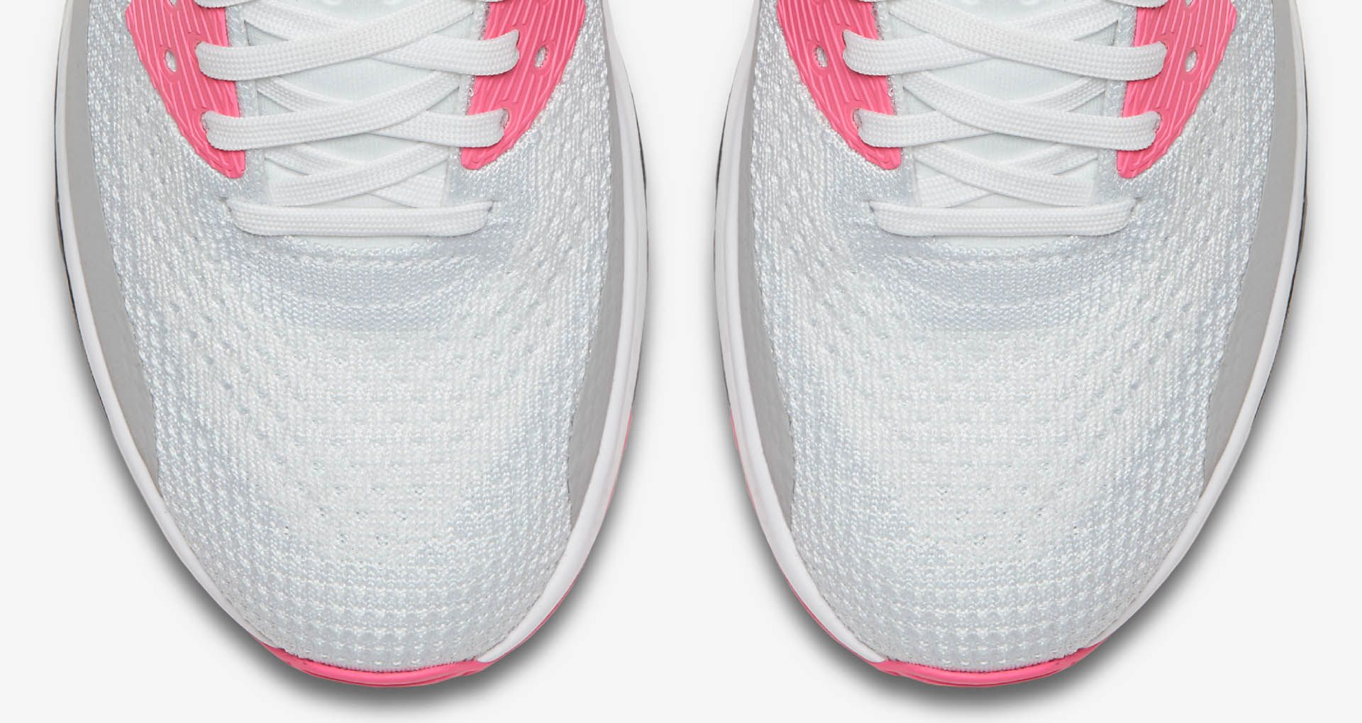 best website f7629 0ccd0 Women s Nike Air Max 90 Ultra 2.0 Flyknit  White   Laser ...