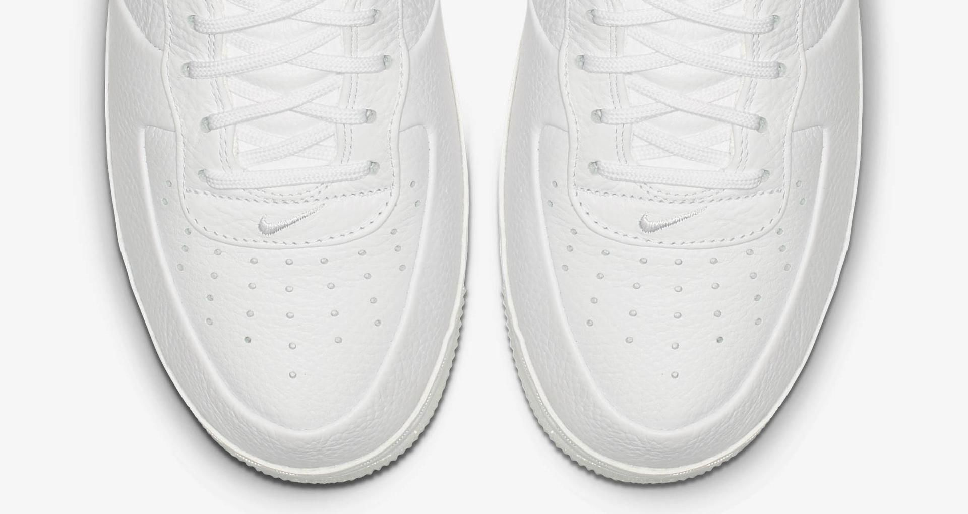 Air Force 1 Mid V.Cruz 'Triple White' Release Date. Nike SNKRS