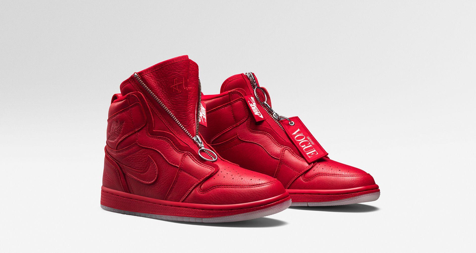 pretty nice 145c9 916d2 Women's Air Jordan I High Zip AWOK 'University Red' Release ...