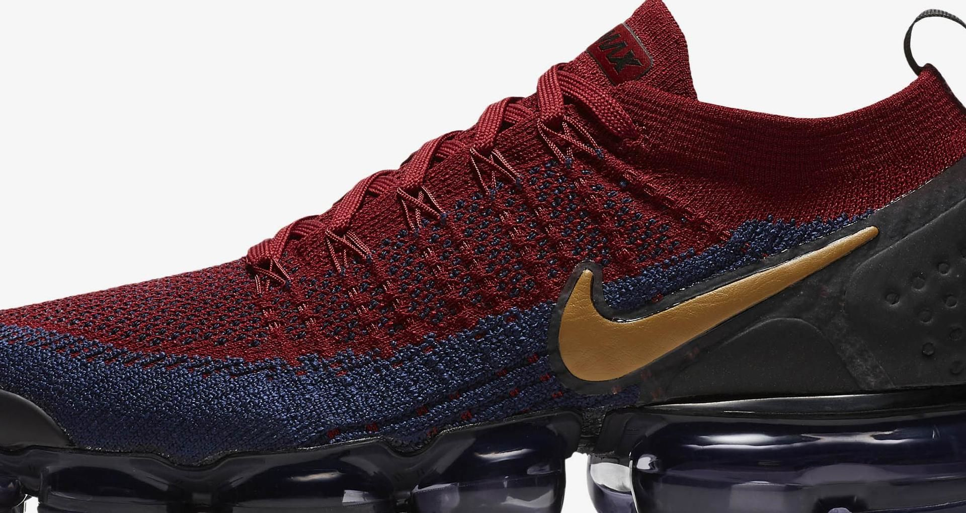 6d705a284b Nike Vapormax 2 Flyknit 'Team Red & Obsidian & Black' Release Date ...