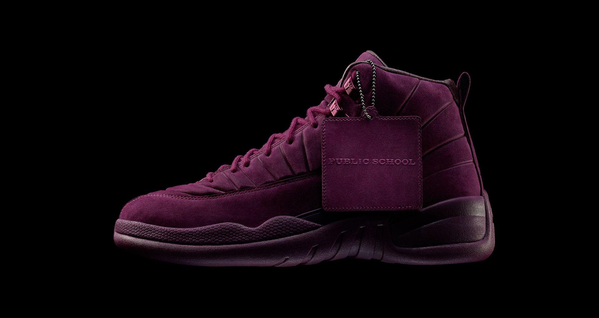 587f254140d Air Jordan 12 Retro PSNY 'Bordeaux' Release Date. Nike+ Launch GB