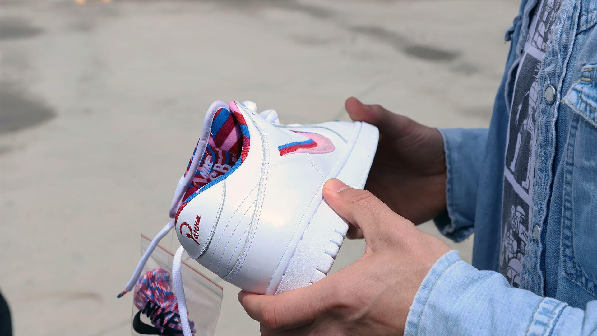Mehr zum Design: Nike SB x Parra Kollektion. Nike+ Launch DE
