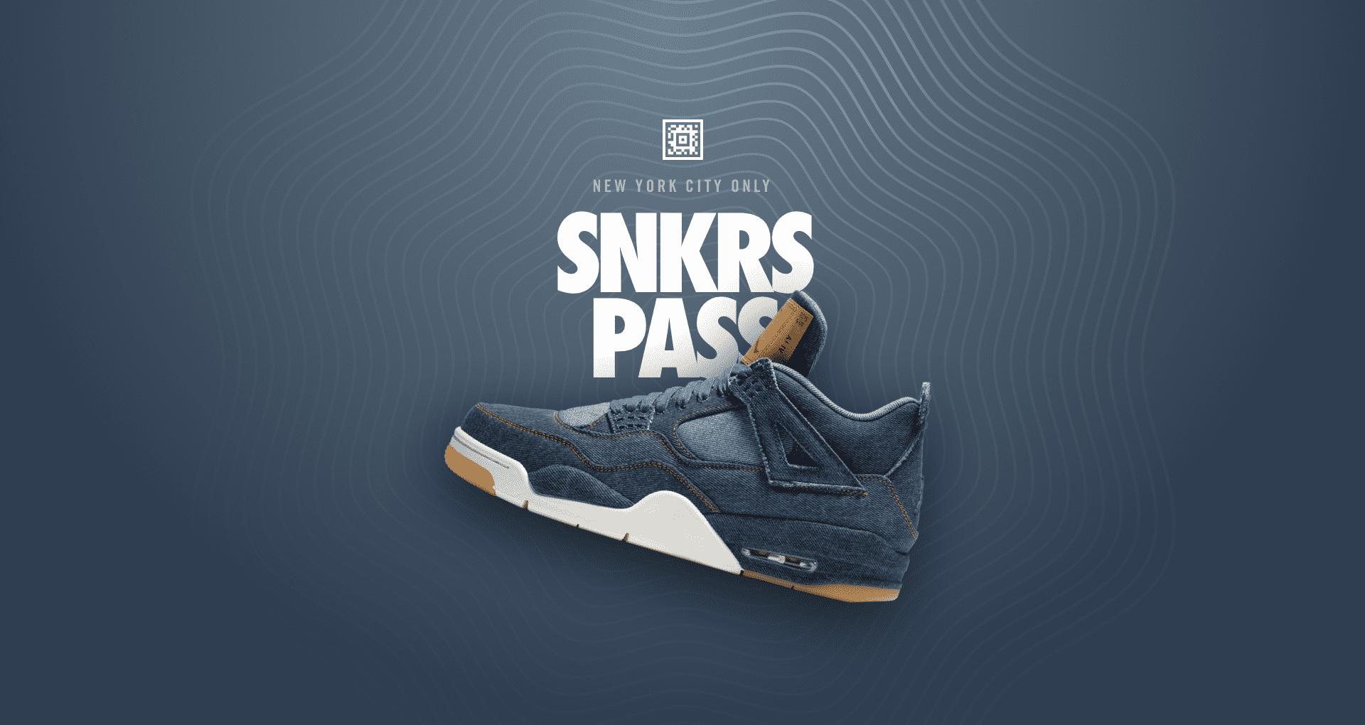 Air Jordan 4 Retro 'Levi's®' SNKRS Pass NYC  Nike+ SNKRS