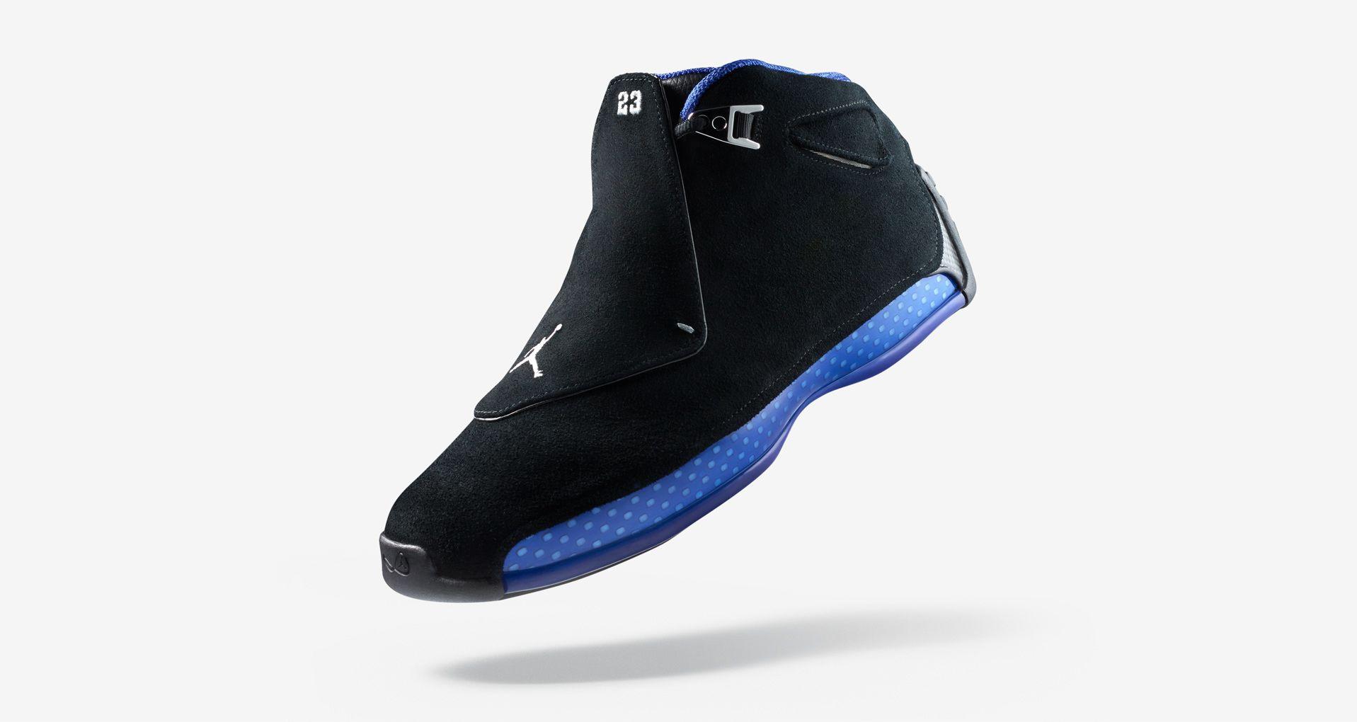 670d7fdc1b47a9 Air Jordan 18 Retro  OG  Release Date. Nike+ SNKRS