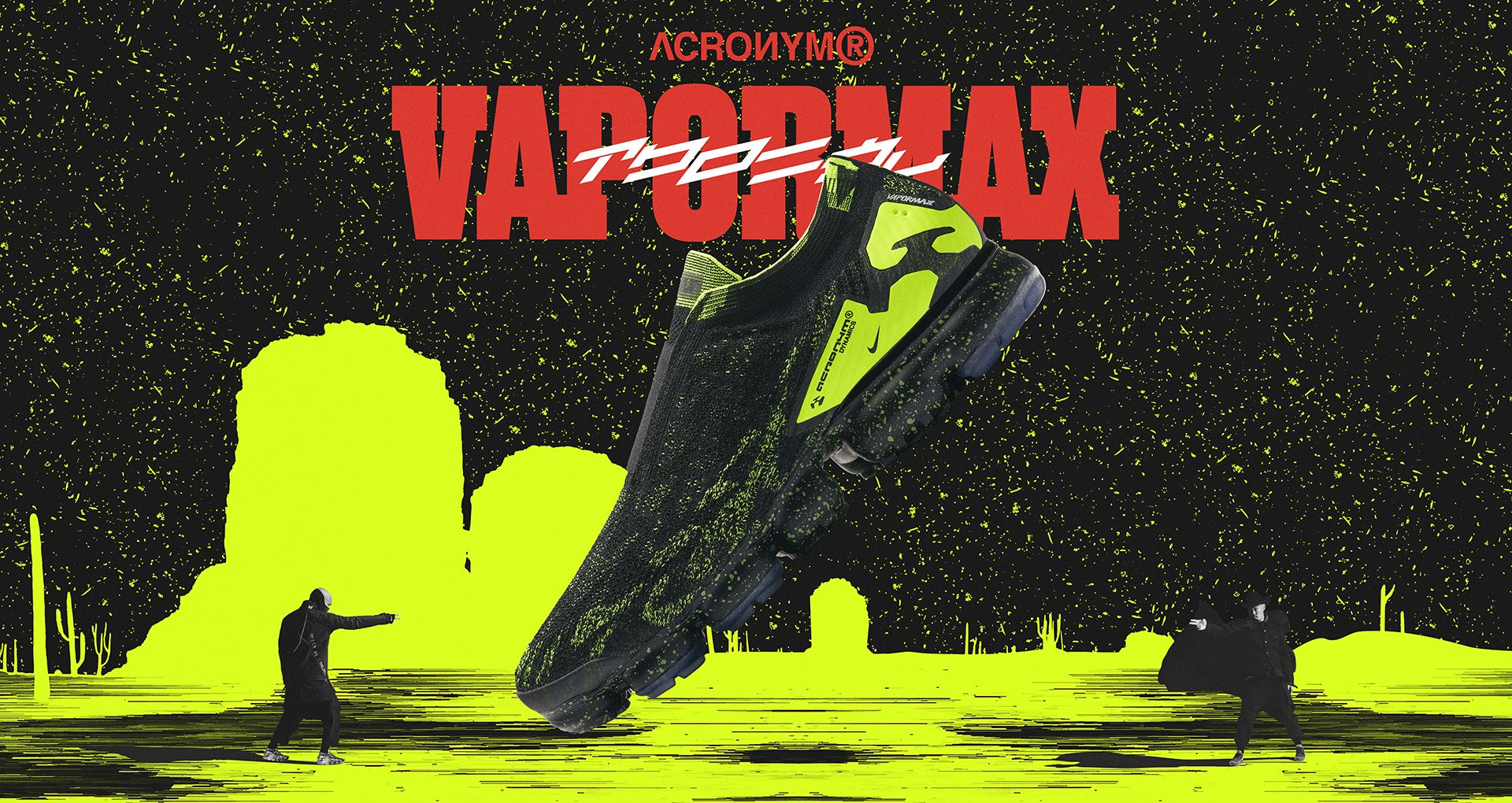 reputable site ca60f b09c2 Nike Air Vapormax Moc 2 Acronym Black  Volt Release Date. Nike⁠+ SNKRS