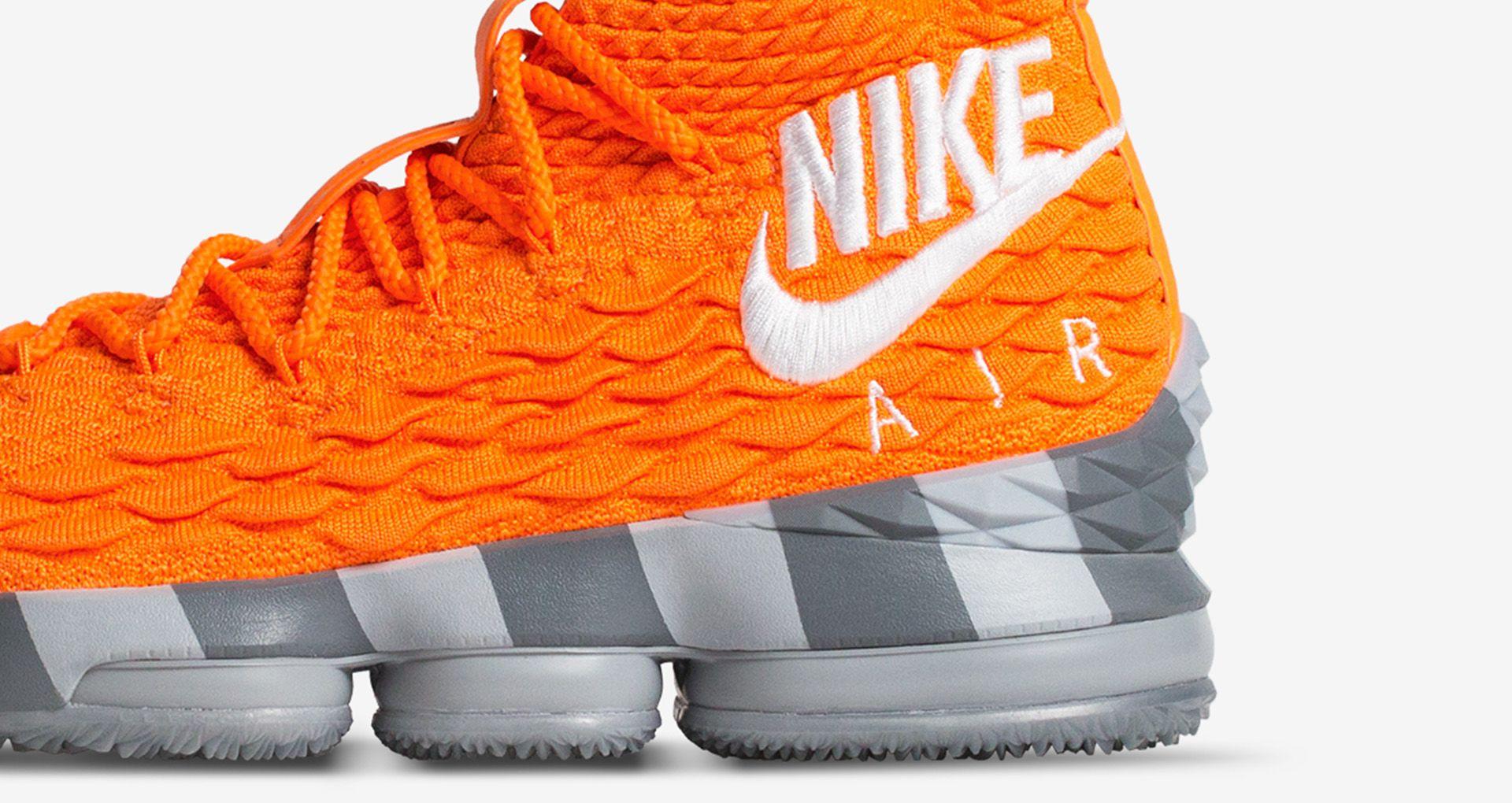 newest c44e4 66037 Nike Lebron 15 Orange Box Release Date