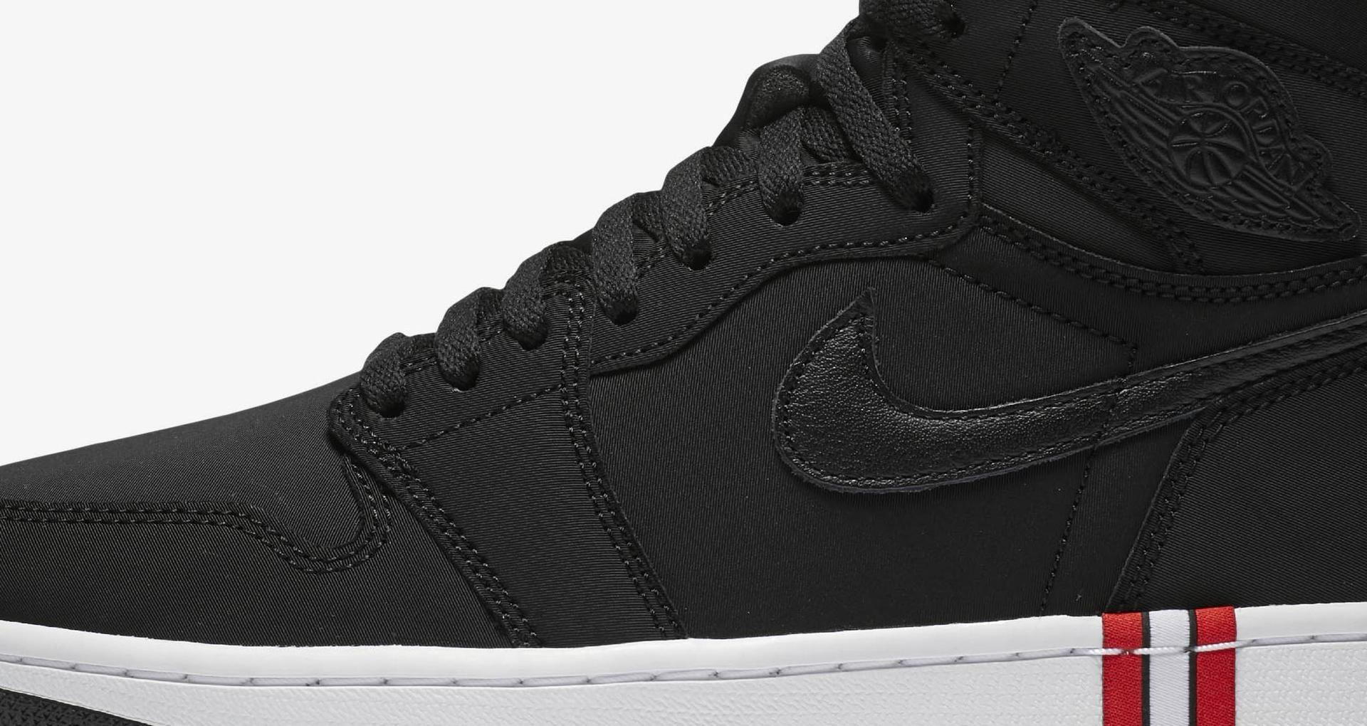 21ed52e6084c Air Jordan 1 PSG  Black   Challenge Red  Release Date. Nike+ SNKRS