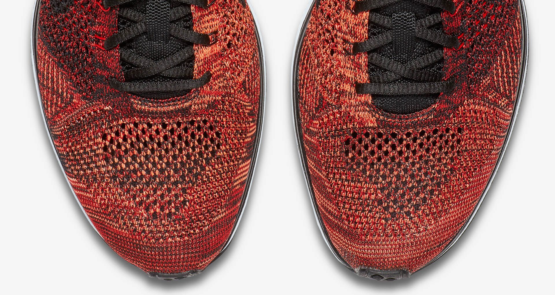 92cf834d343d Nike Flyknit Racer  University Red   Black  . Nike+ SNKRS