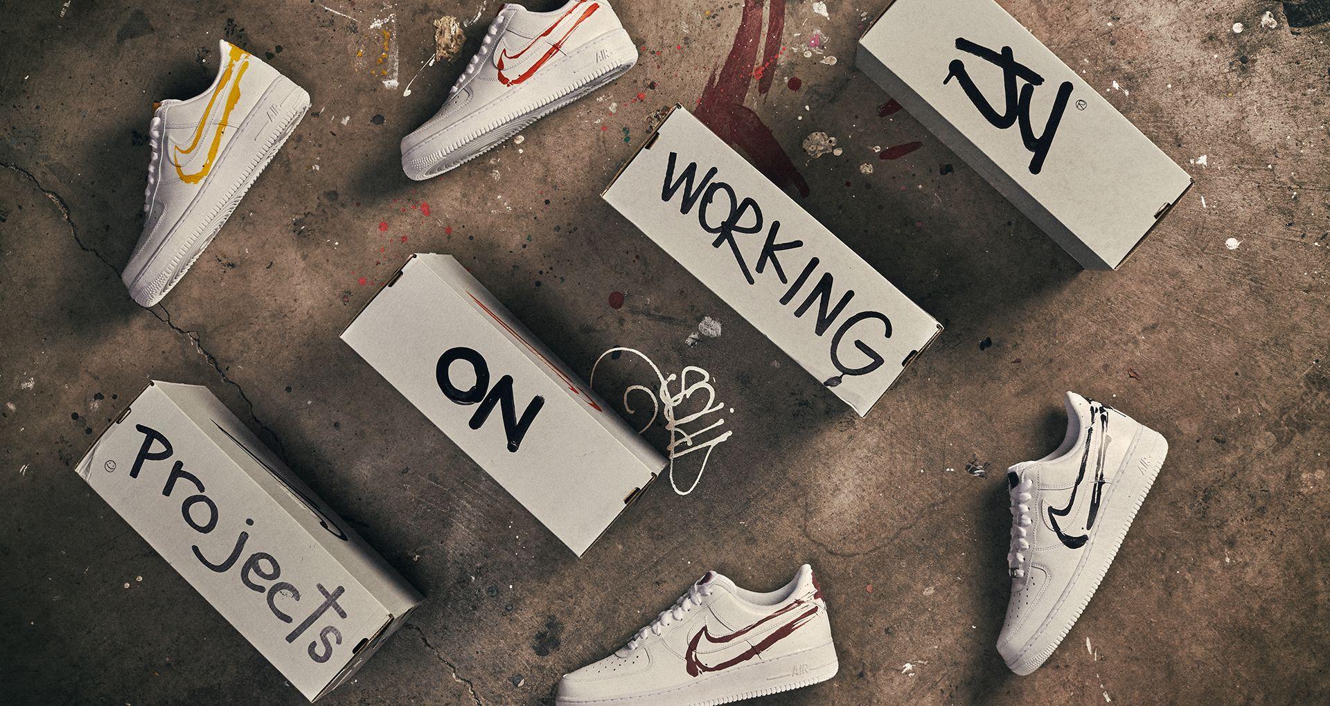 Art ProjectsNike of Working BE SNEAKRS SNEAKRSJu on dreCoxB