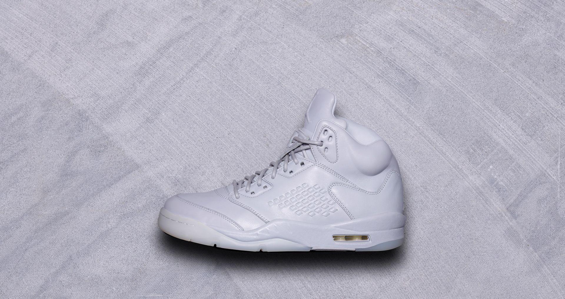 size 40 3fe2a 06a9c Air Jordan 5 Retro Premium  Pure Platinum . Nike+ SNKRS