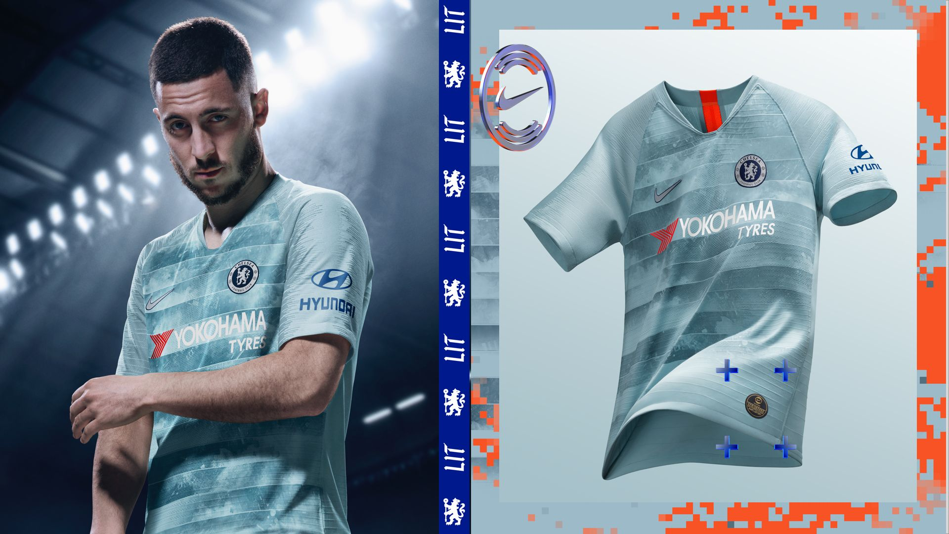 70084e33808 Shop All. Nike Football. NikeConnect Chelsea FC Third Jersey