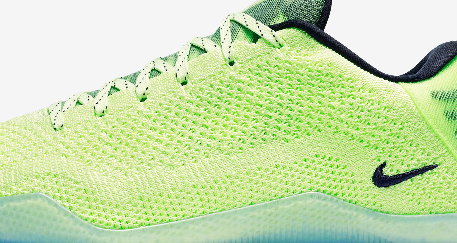 c664aefef7f1 Nike Kobe 11 Elite Low 4KB  Liquid Lime . Nike+ SNKRS
