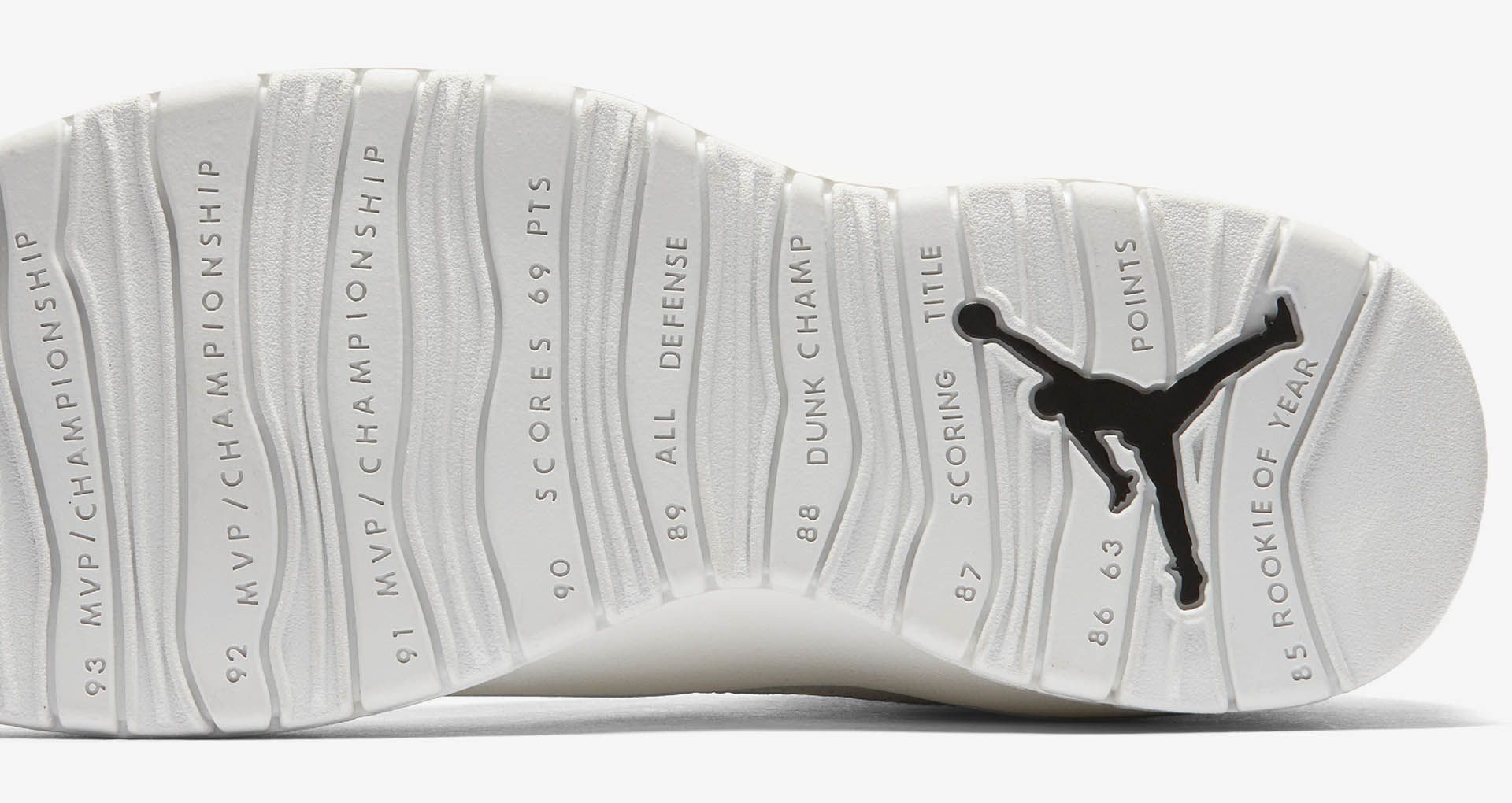 watch 2f143 8eaf7 Air Jordan 10 Retro 'Summit White & Black' Release Date ...
