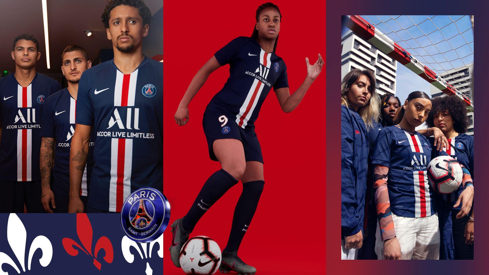 201920 Paris Saint Germain Stadium thuisjersey. NL