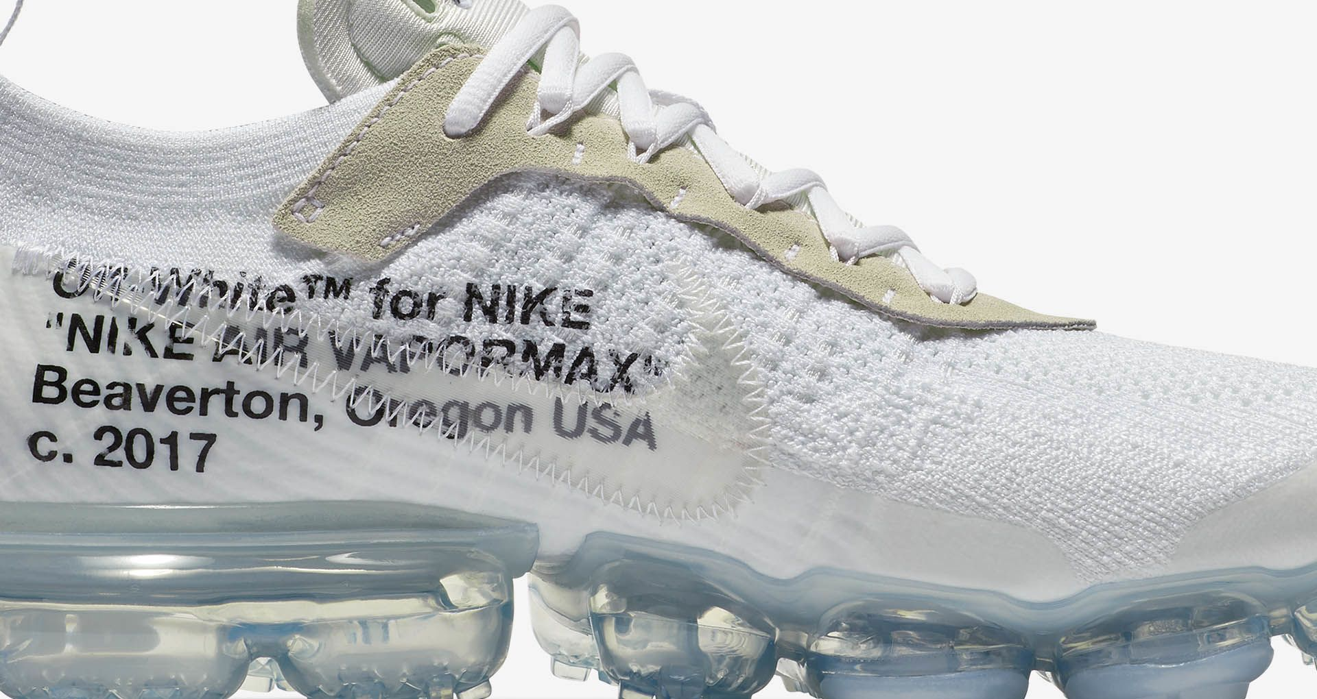 Nike The Ten Air Vapormax Off White 'White' Release Date