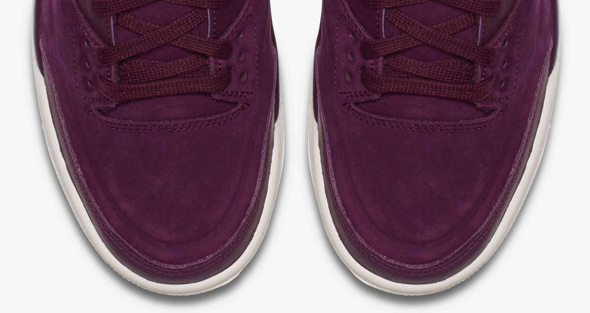 13e7c85fa801 Women s Air Jordan 3  Bordeaux  Release Date. Nike+ SNKRS