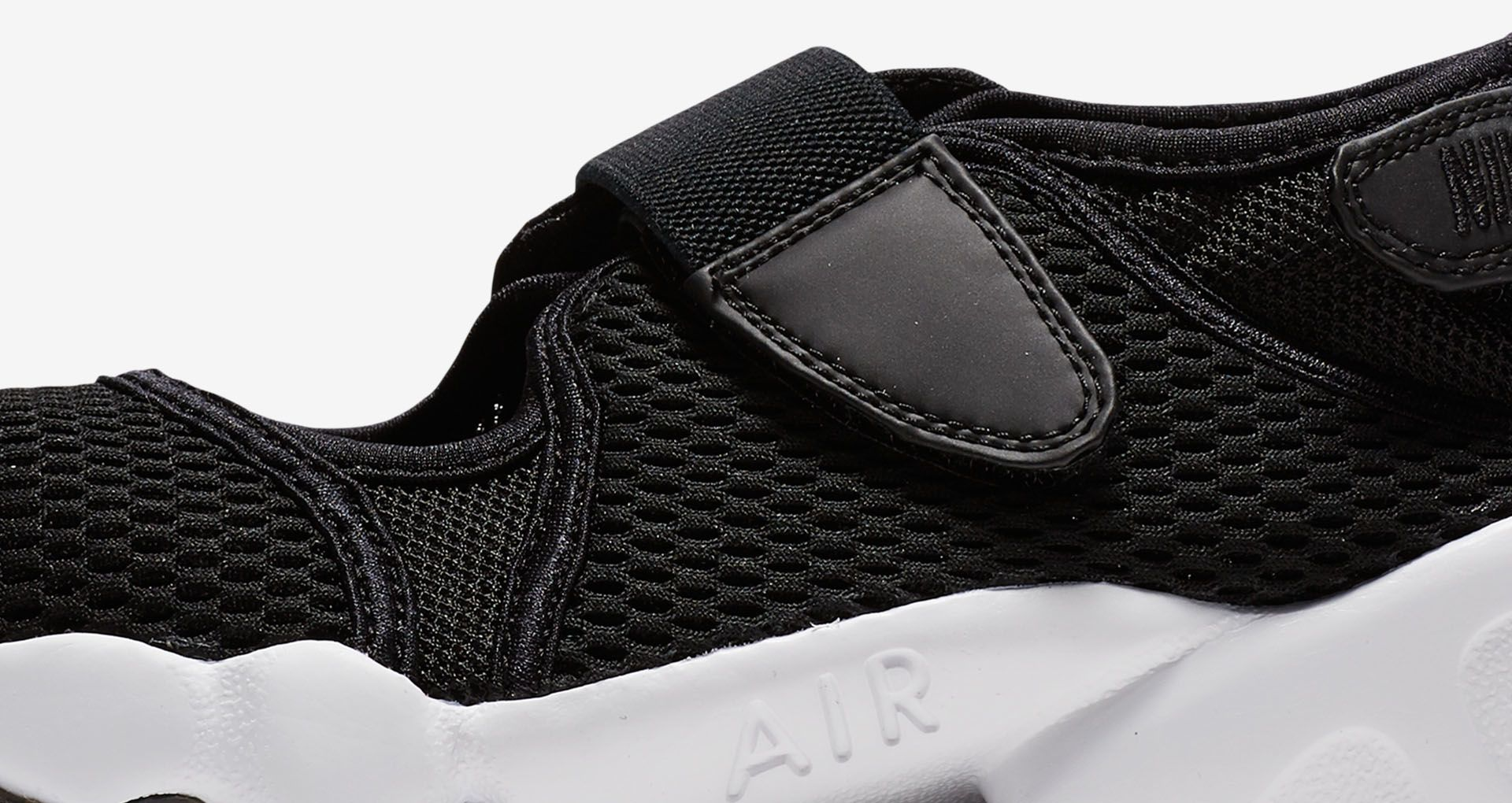 best website e48f0 731e3 Womens Nike Air Rift Breathe Black ...