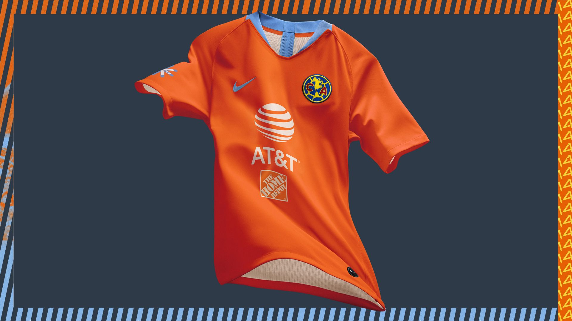 innovative design 05b23 d6021 Nike 2019 Club America Alternate Kit. Nike.com