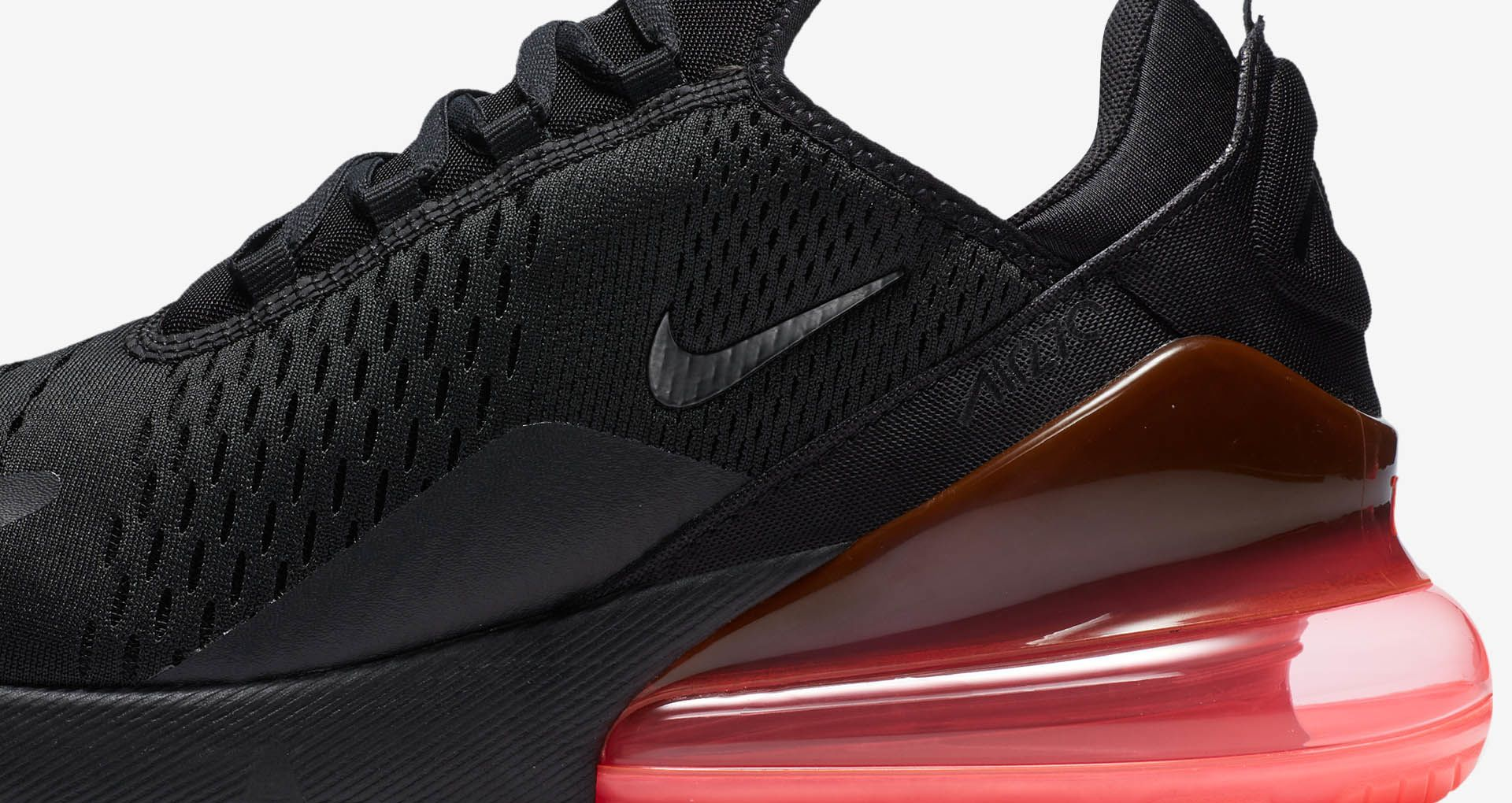 Nike Air Max 270 'Black & Hot Punch' Release Date. Nike SNKRS