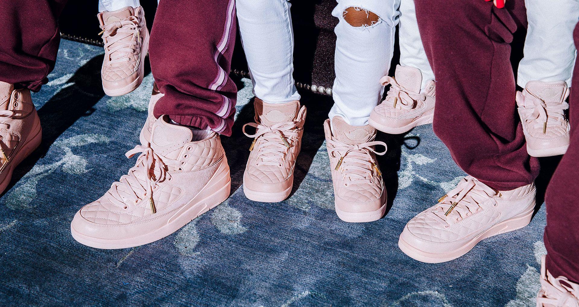 7497bec5db4 Just Don x Jordan Brand 'Family First' Story. Nike+ SNKRS