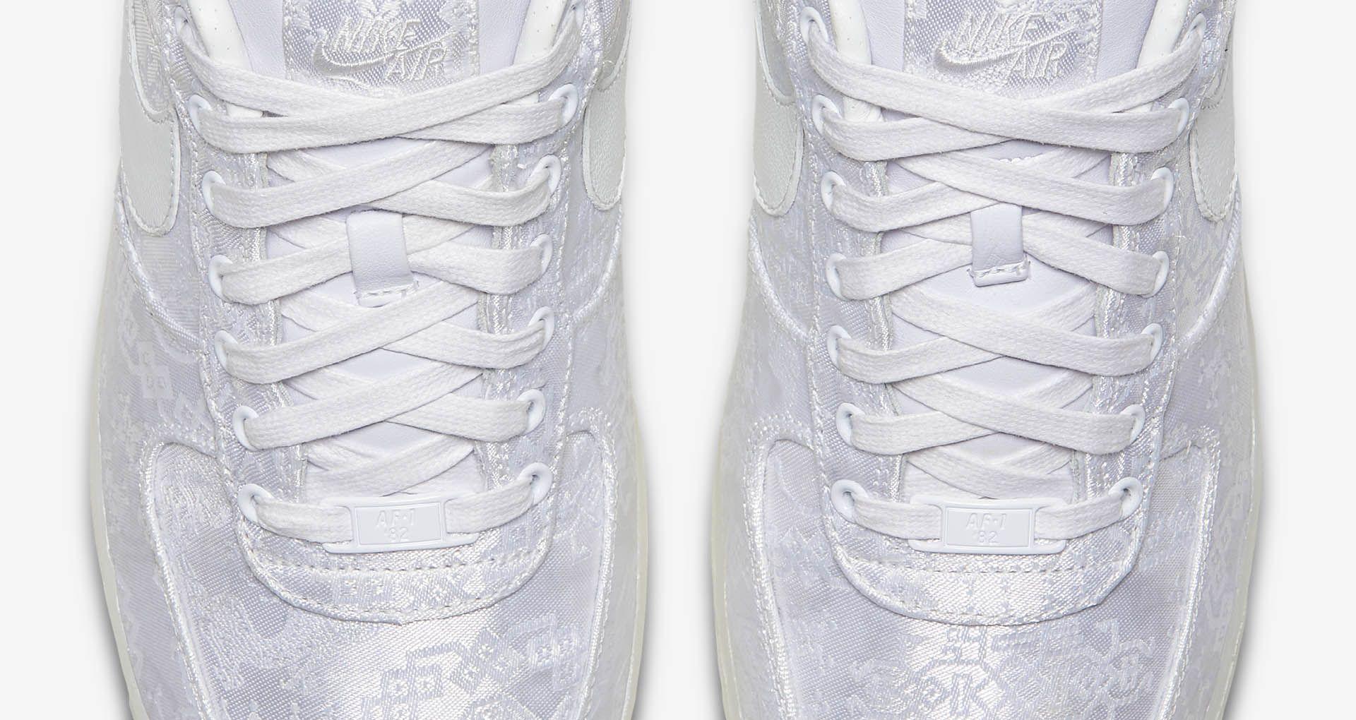 75dae69cbf Nike Air Force 1 Premium Clot 'White' Release Date. Nike+ Launch PT