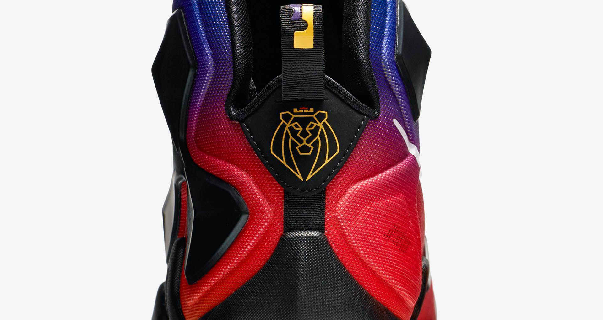 purchase cheap d9ee3 e488e Nike LeBron 13 Doernbecher  Laser Orange   Court Purple  ...