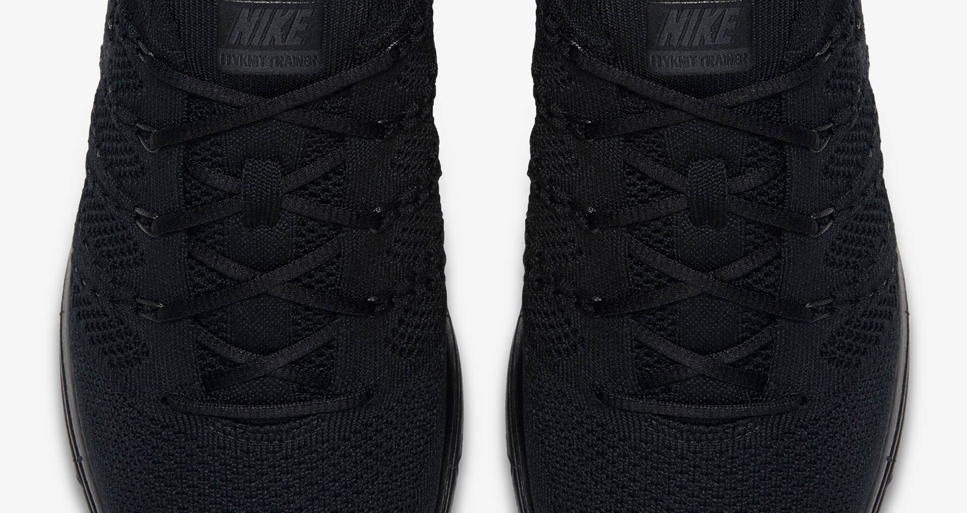 d79b48e827532 Nike Flyknit Trainer  Black   Anthracite  Release Date. Nike+ SNKRS