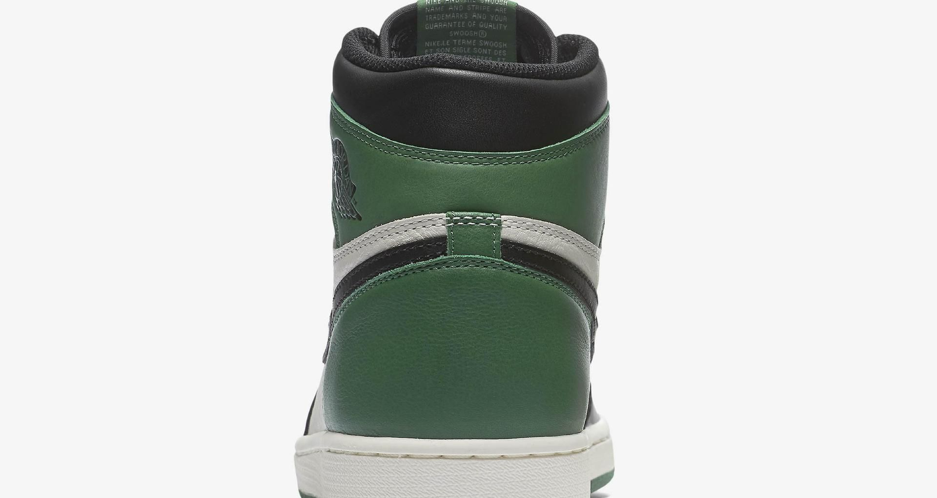 save off 6bb96 c7719 Air Jordan 1 Retro  Pine Green  Release Date
