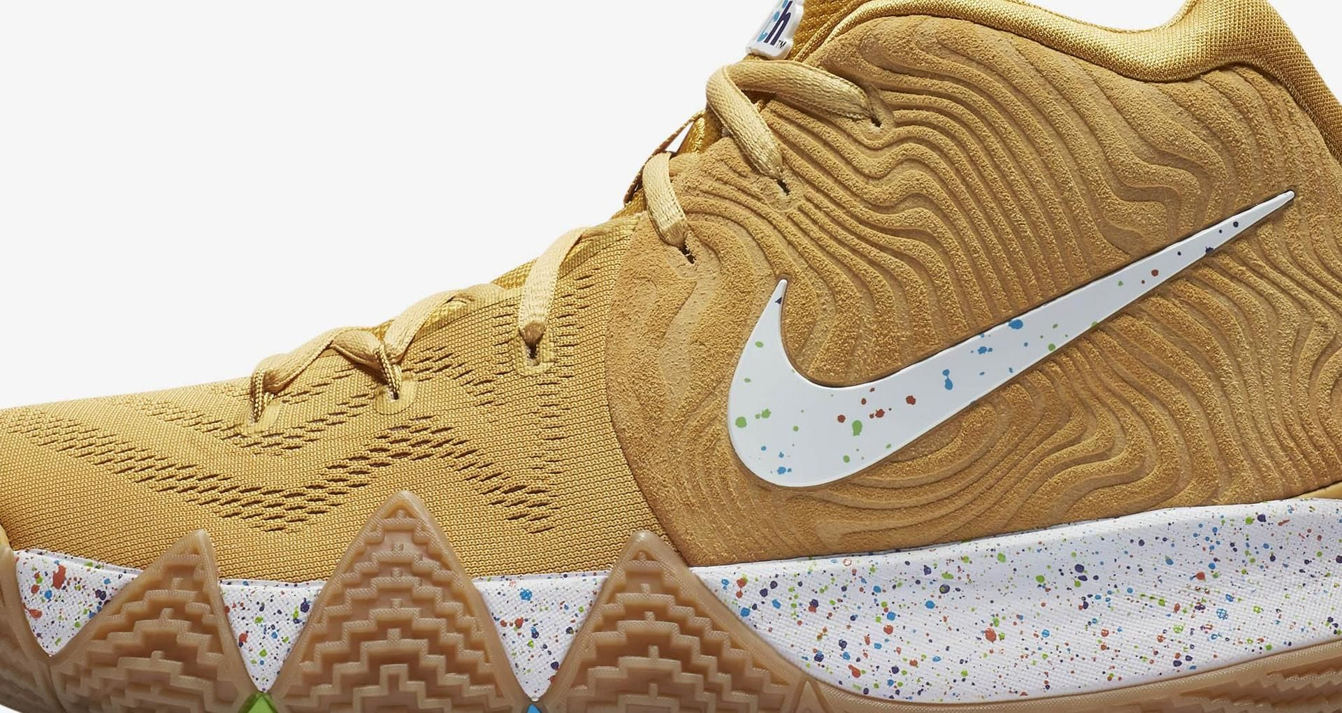 watch e2633 1c030 Nike Kyrie 4 'Cinnamon Toast Crunch' Release Date. Nike⁠+ SNKRS