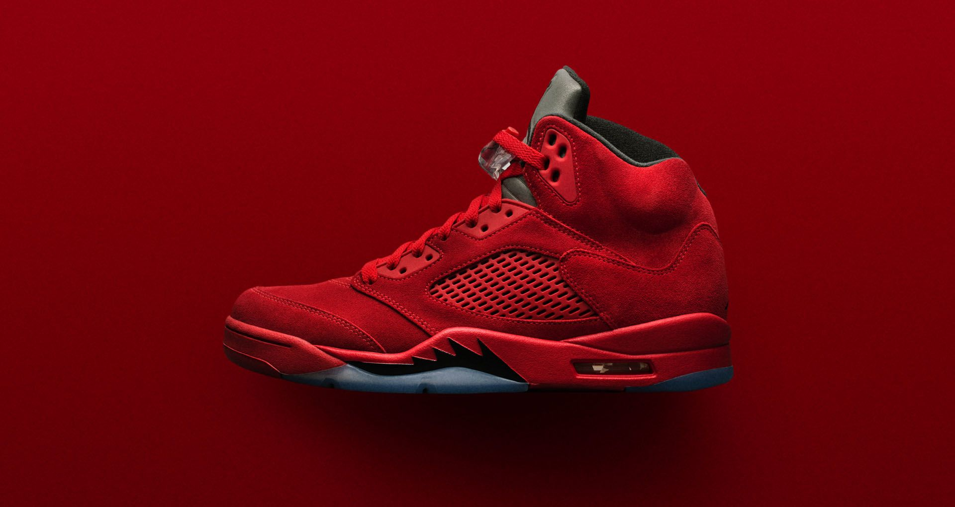 new arrival cdfda 029ee Air Jordan 5 Retro Flight Suit  University Red  Release Date. Nike⁠+ ...