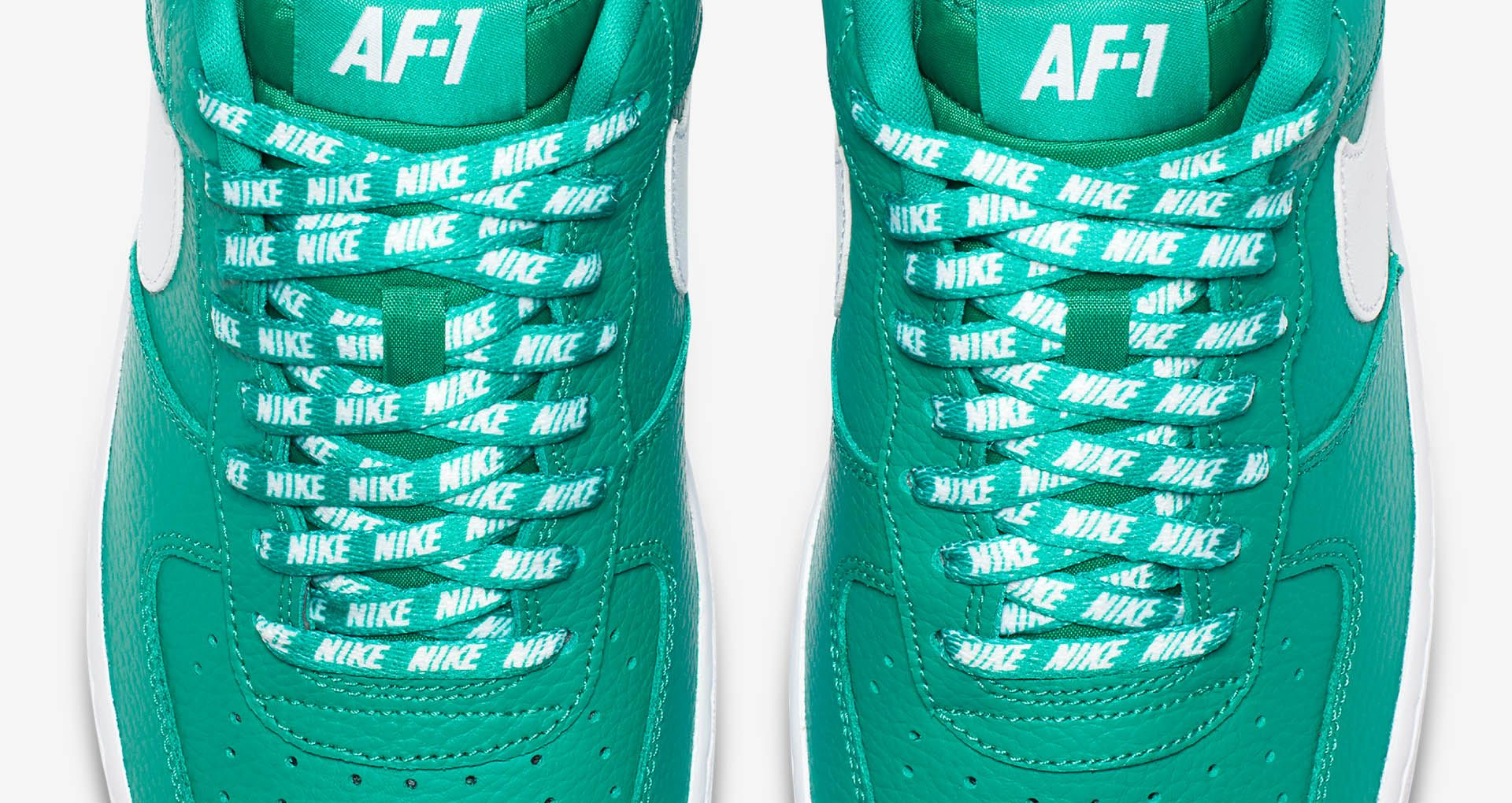 8e9e93dfd3 Nike AF-1 Low NBA 'Neptune Green & White' Release Date. Nike+ SNKRS