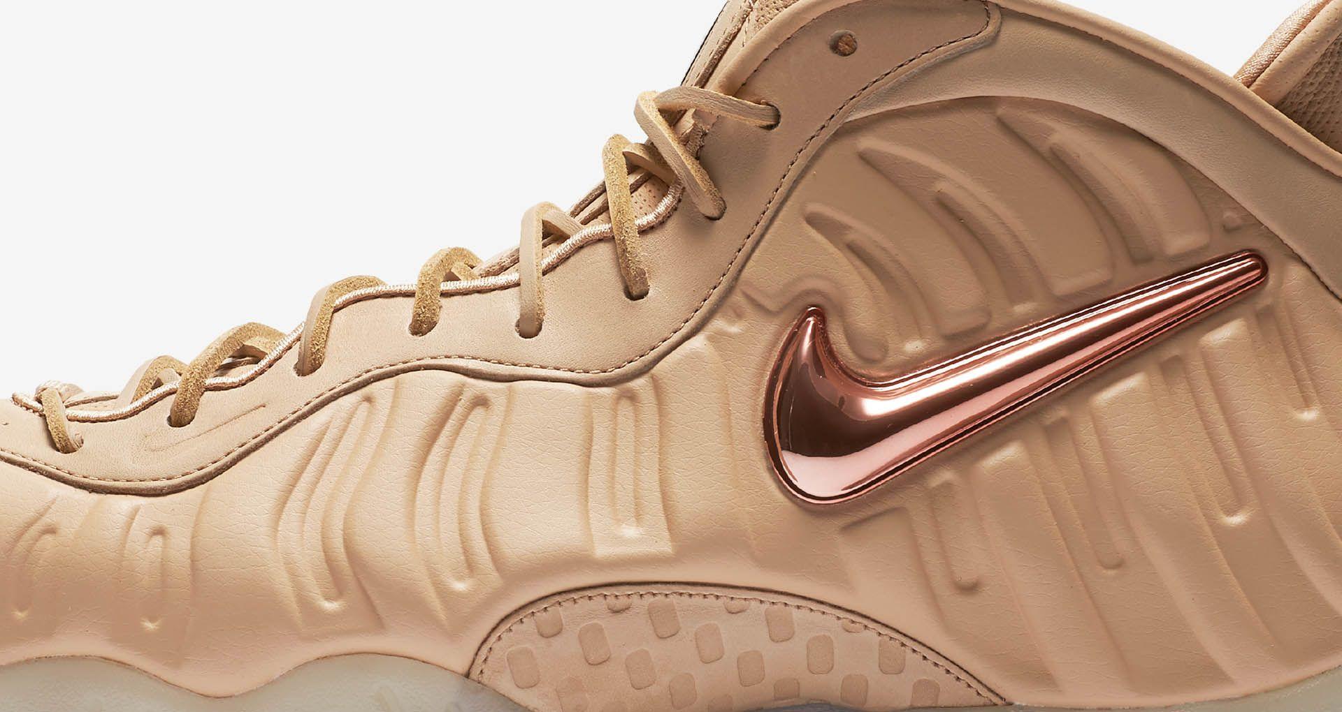 new arrival e6512 51023 Nike Air Foamposite Pro 'Vachetta Tan & Rose Gold'. Nike+ SNKRS