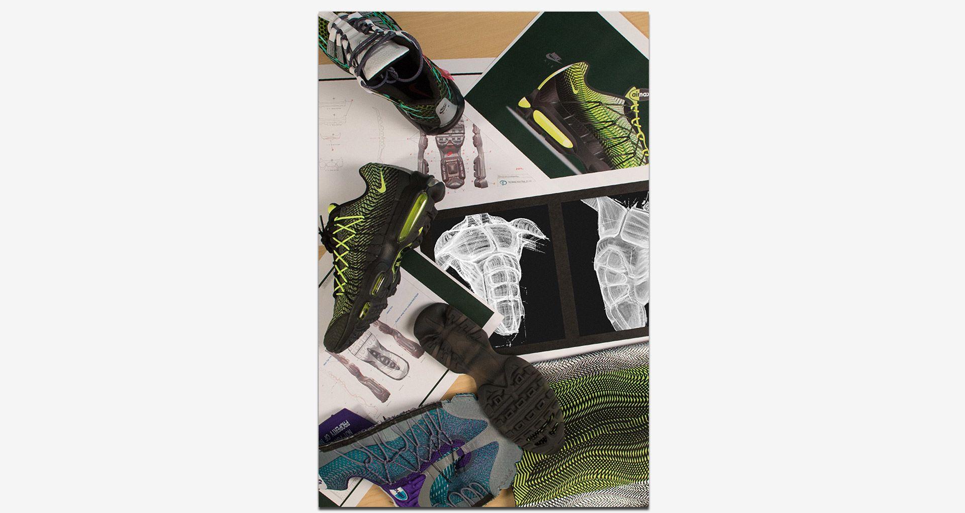 Hinter den Kulissen: Der Nike Air Max 95 Ultra Jacquard