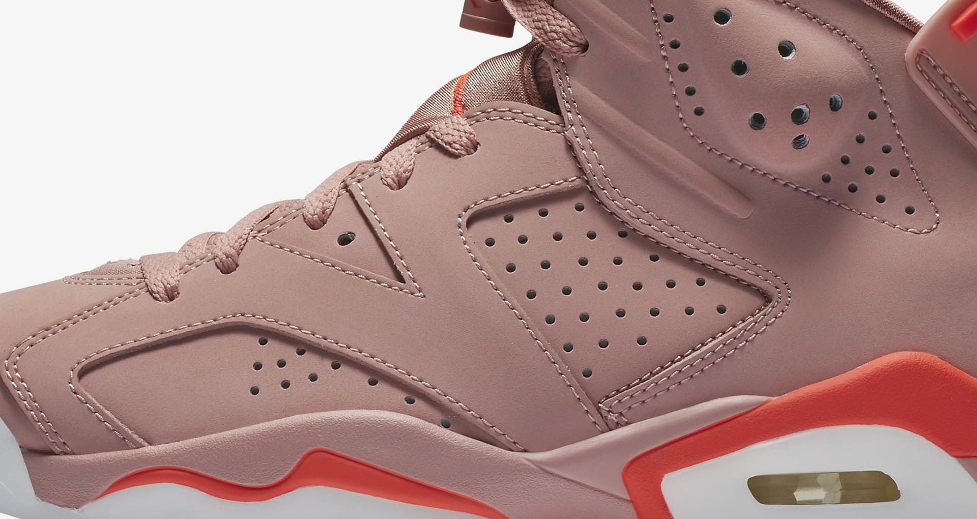 the latest 79396 55274 Women's Air Jordan 6 Retro NRG 'Aleali May' Release Date ...
