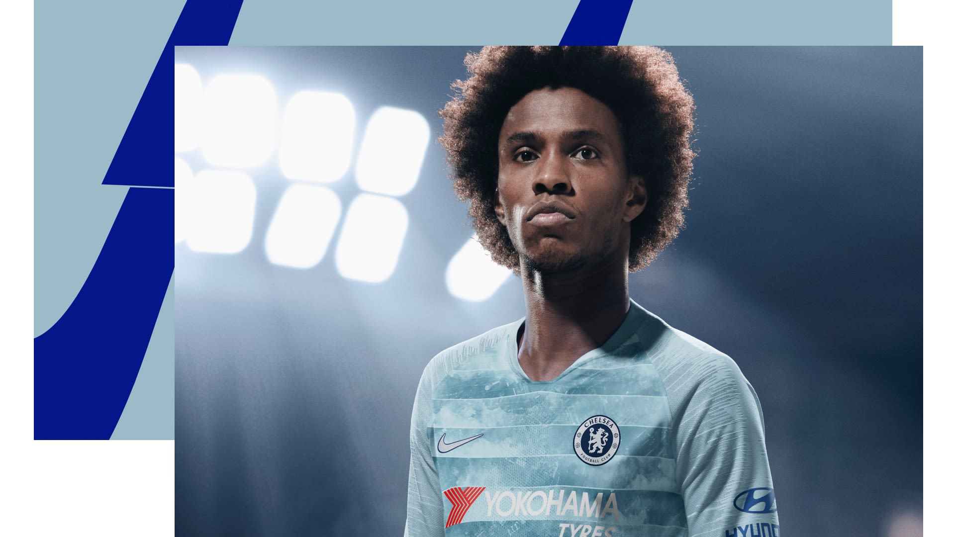 finest selection 38f40 84a8f ... Chelsea FC brings you inside the design process to help design a  Shirtholder s edition fan jersey. Just get the NikeConnect Chelsea FC Third  Jersey and ...
