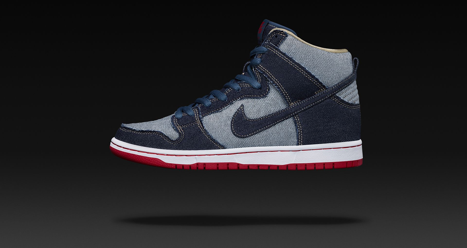 quality design 0c5f1 6b7ef SB DUNK HI OG. REESE DENIM