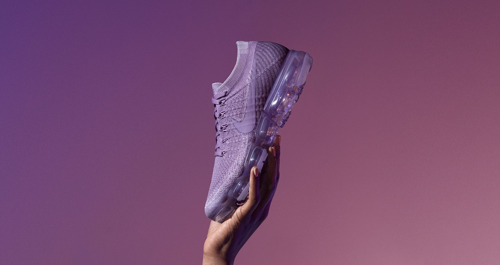 f7e3a9e1f058b Women s Nike Air VaporMax Flyknit Day to Night  Violet Dust . Nike⁠+ ...