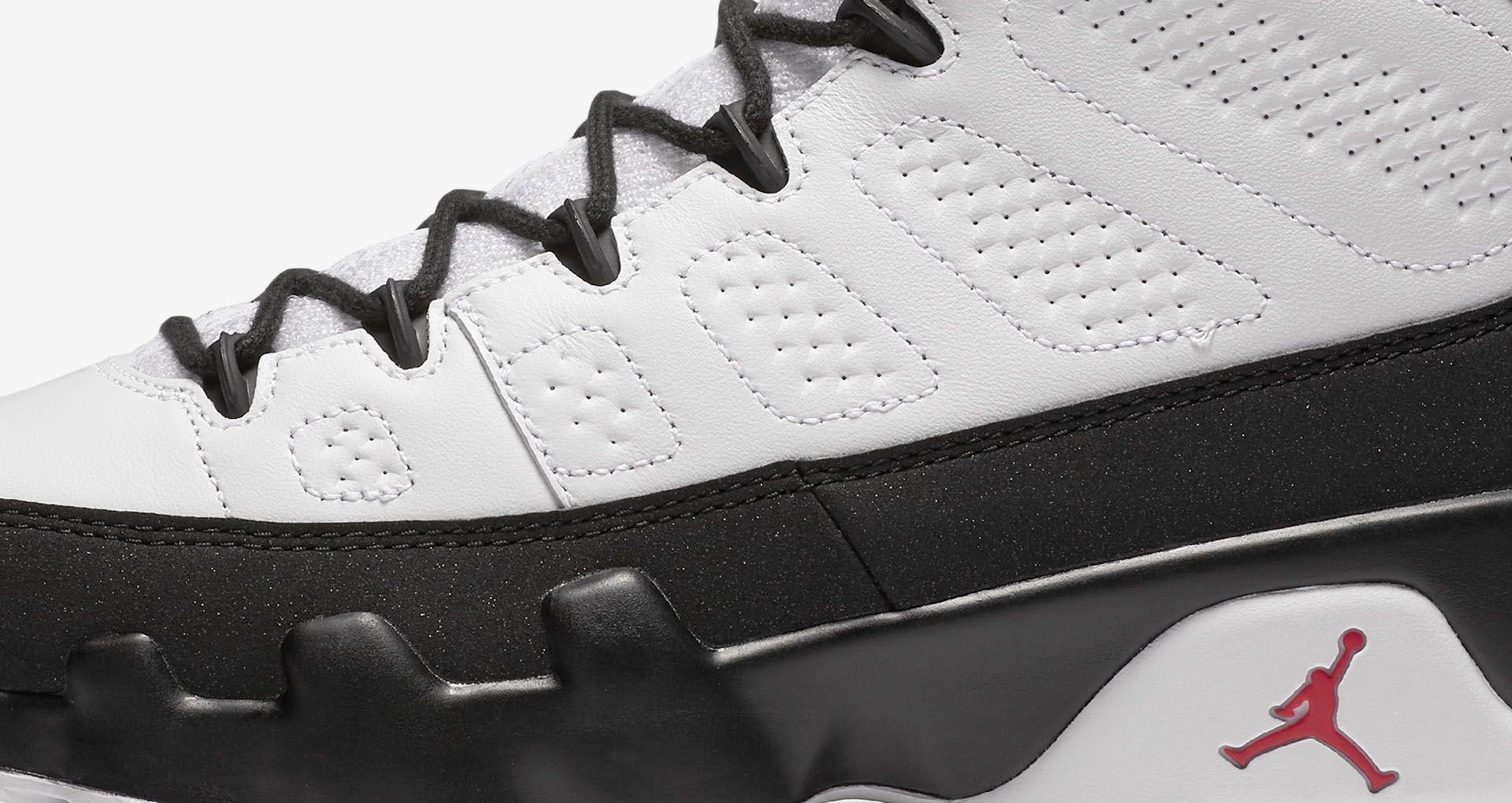 low priced 6d57b fdd63 Air Jordan 9 Retro OG 'White & Black' 2016 Release Date ...