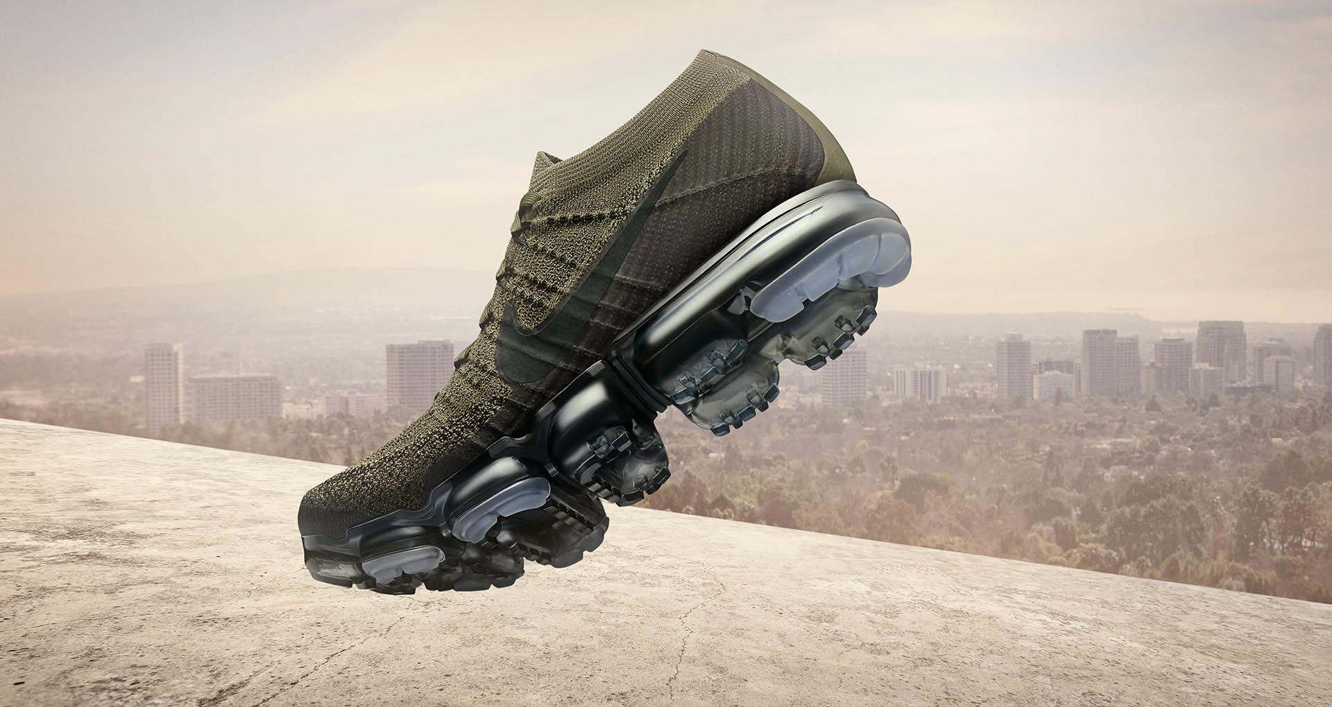 Nike Air VaporMax  Cargo Khaki  amp  Black  Release Date. Nike+ ... c3b7c424e148