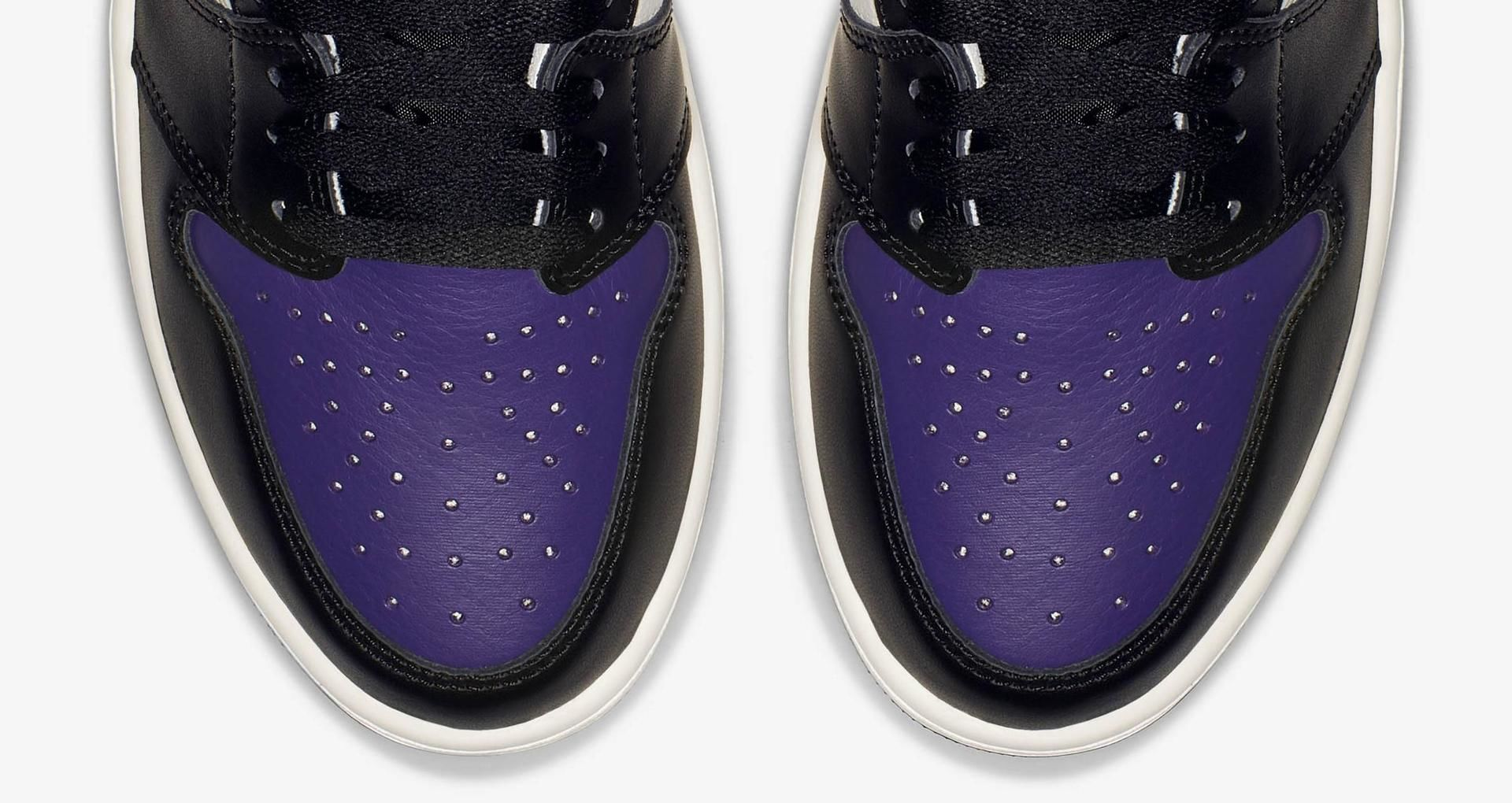 9edb31bb200 Air Jordan 1 Retro 'Court Purple' Release Date. Nike+ SNKRS