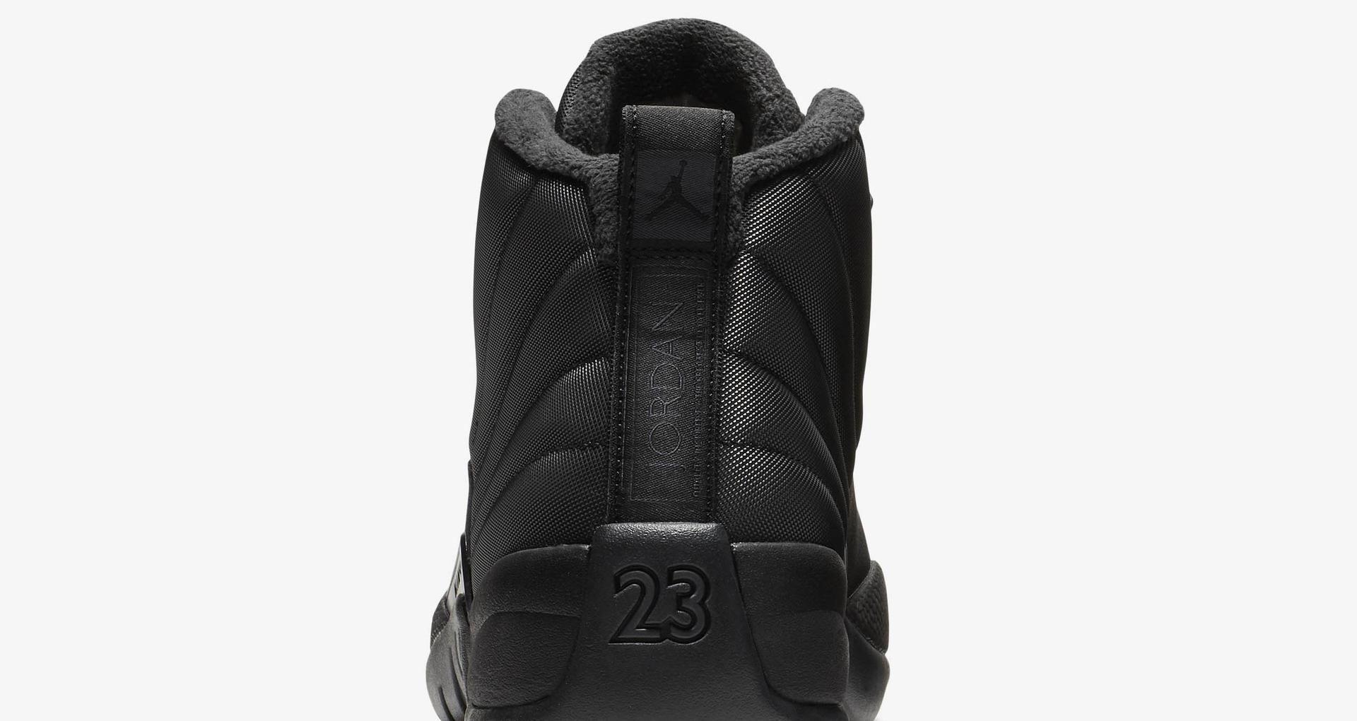 separation shoes 7fb49 fcd0d Air Jordan 12 Retro Winter 'Black & Anthracite' Release Date ...
