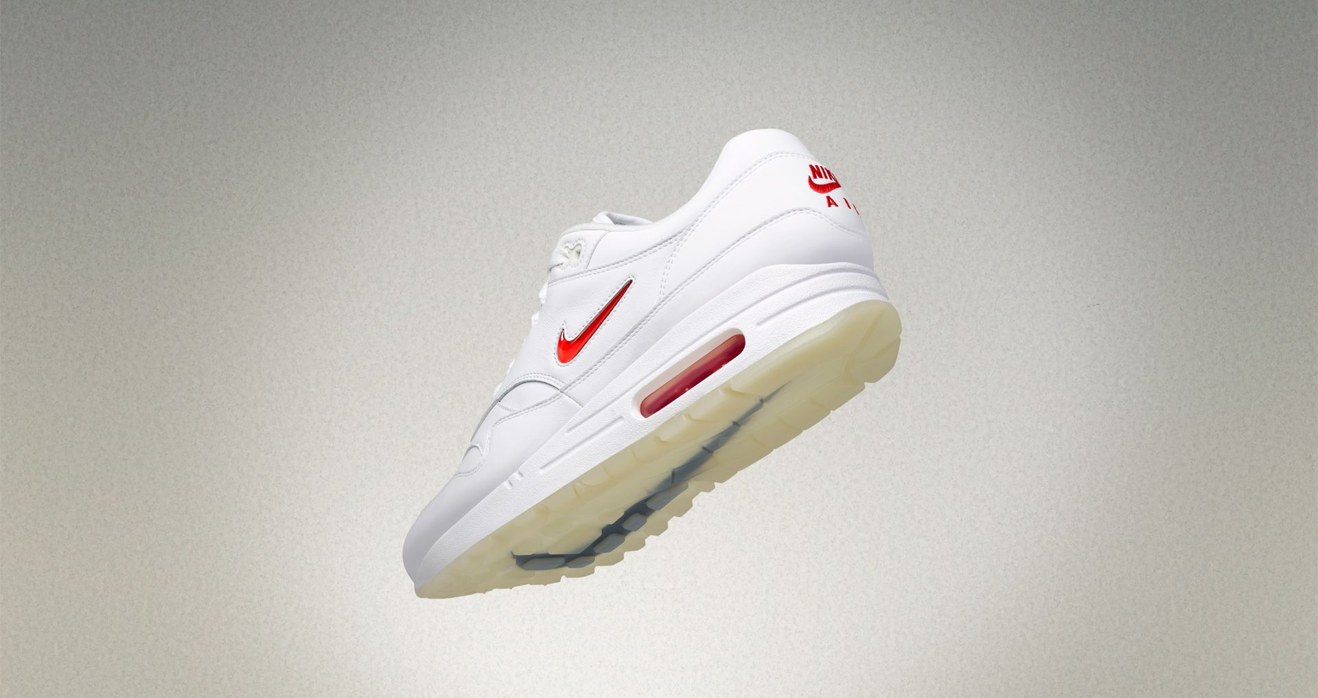 7259298489 Air Max 1 Premium Jewel 'White & University Red' Release Date. Nike ...