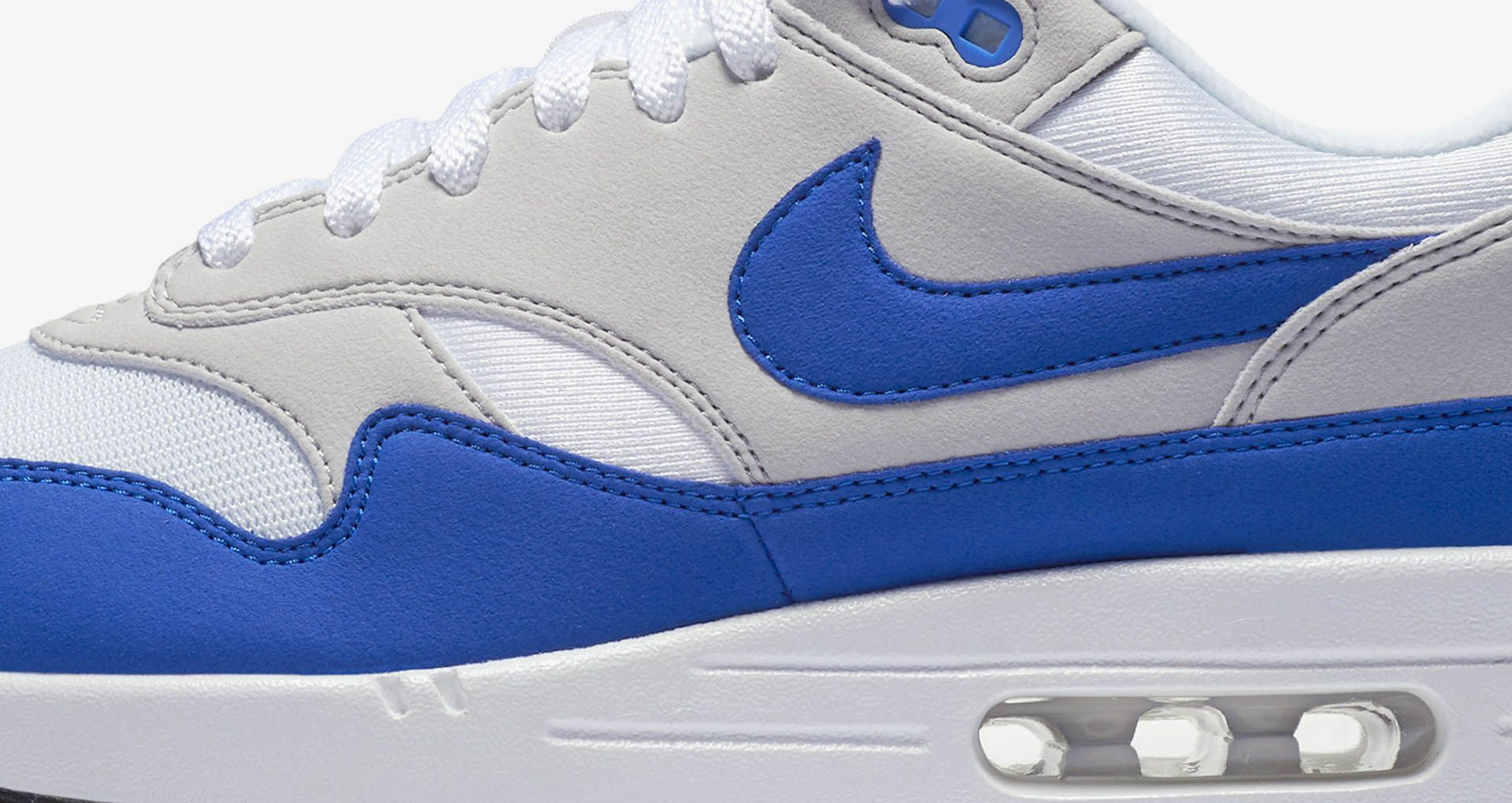 Nike Air Max 1 Anniversary 'White & Neutral Grey & Game