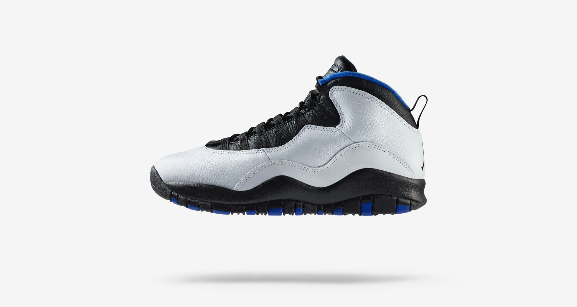 low priced d4720 ec07f Air Jordan 10 Retro Orlando  White   Royal   Black  ...